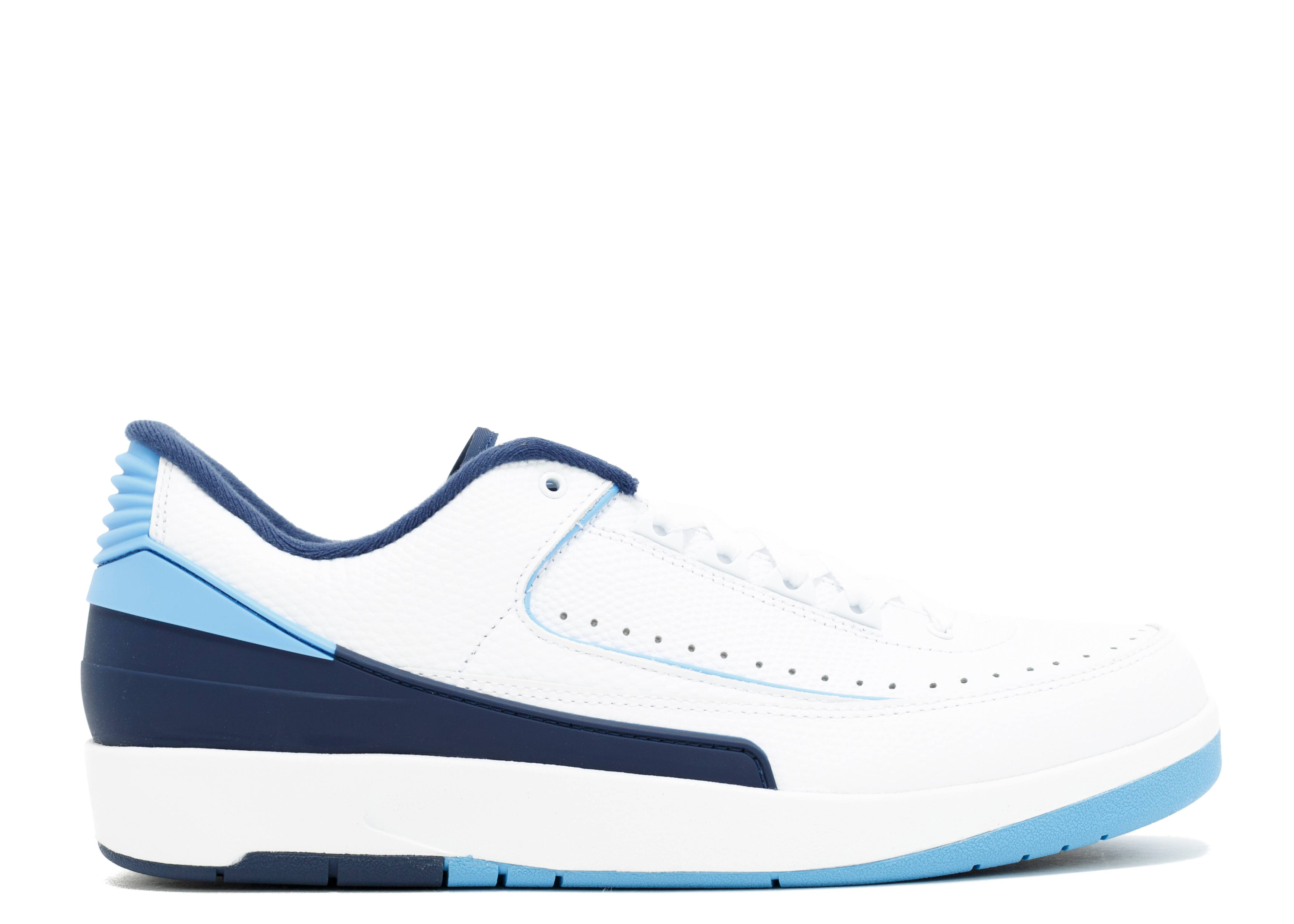 "air jordan 2 retro low ""unc"""