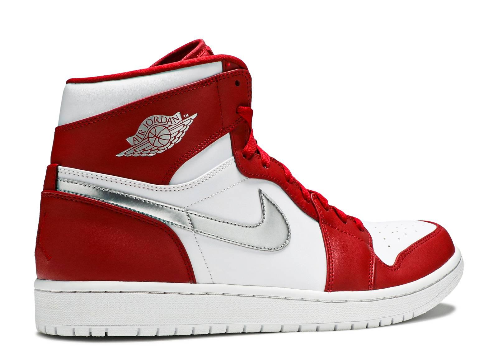 online store 70027 16364 best jordan 1 red white silver d230b 84bf9