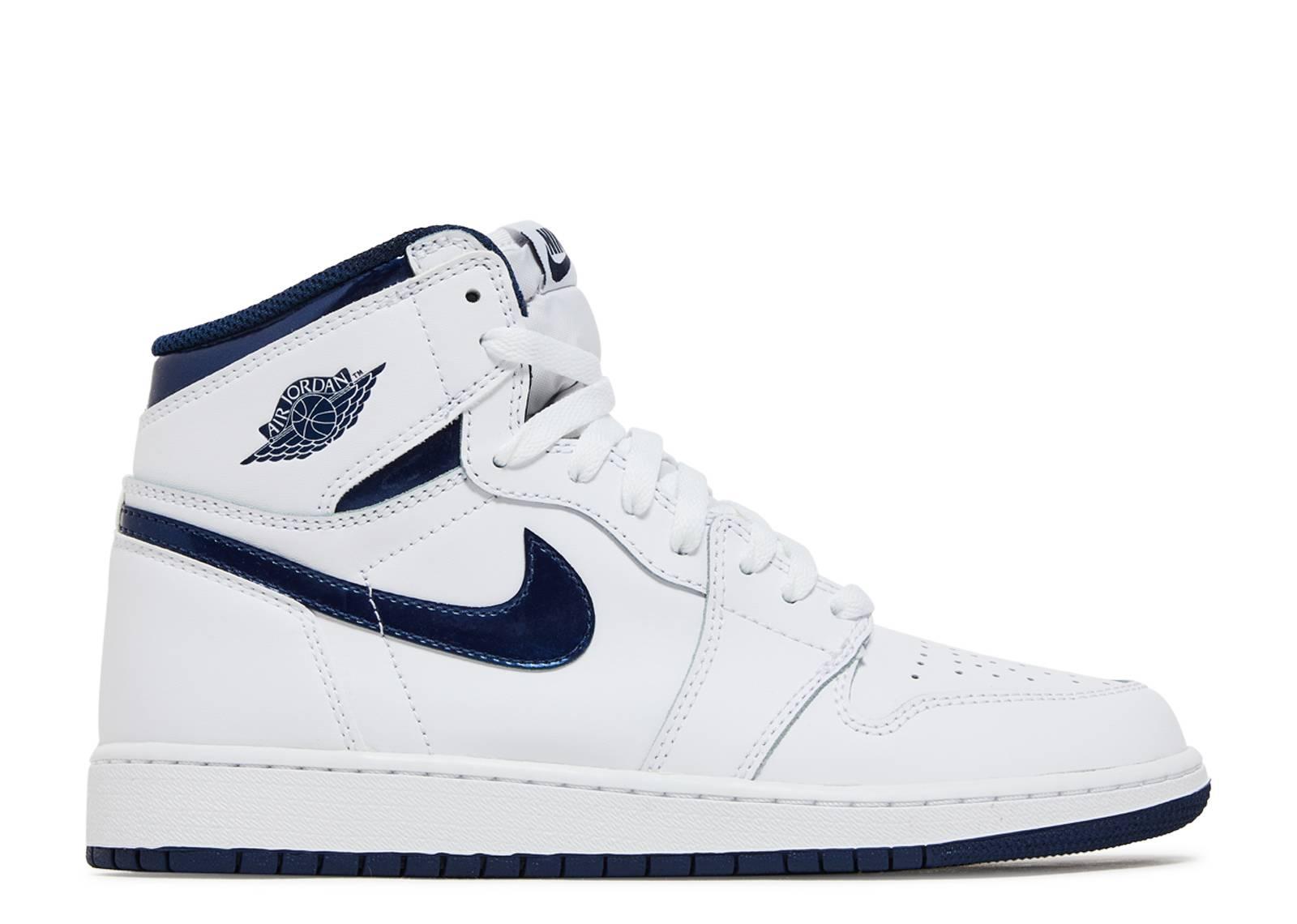 3b8b615fc047 Air Jordan 1 Retro Og Bg (gs) - Air Jordan - 575441 106 - white ...