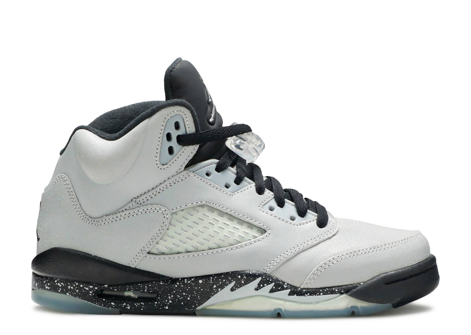 "air jordan retro 5 gg (gs) ""wolf grey"""