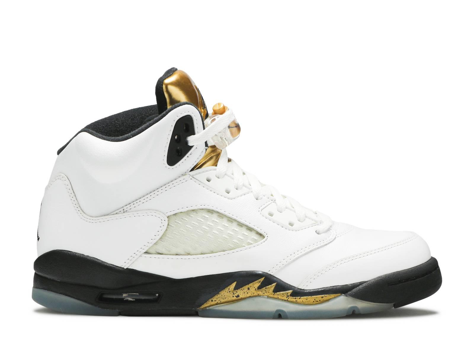 "air jordan 5 retro bg (gs) ""olympic gold"""