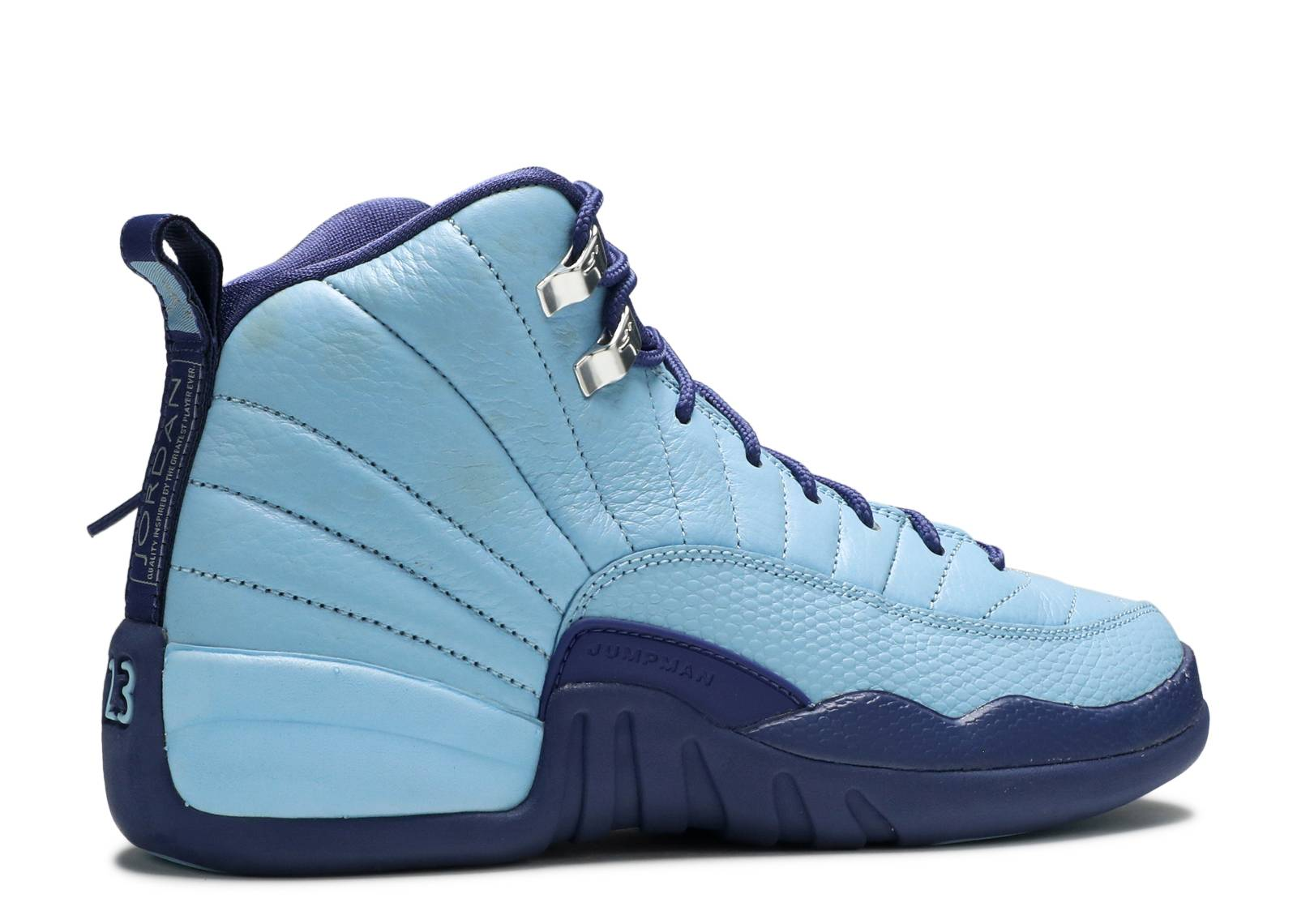 c6295a0051ff79 ... 510815-418 Blue Cap Profile Air Jordan 12 Retro GS ... air jordan 12  retro gg (gs) ...