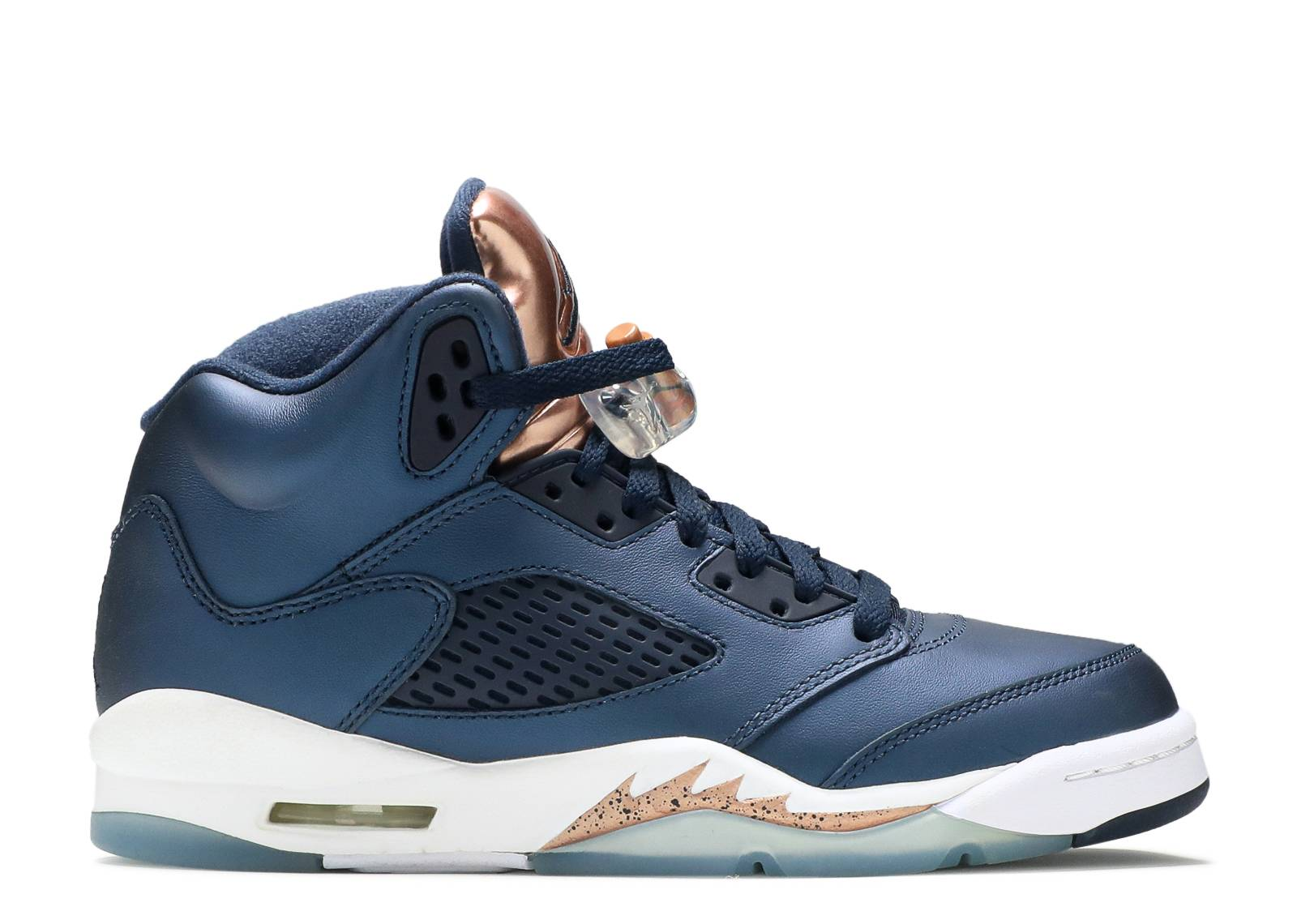 "air jordan 5 retro bg (gs) ""bronze"""