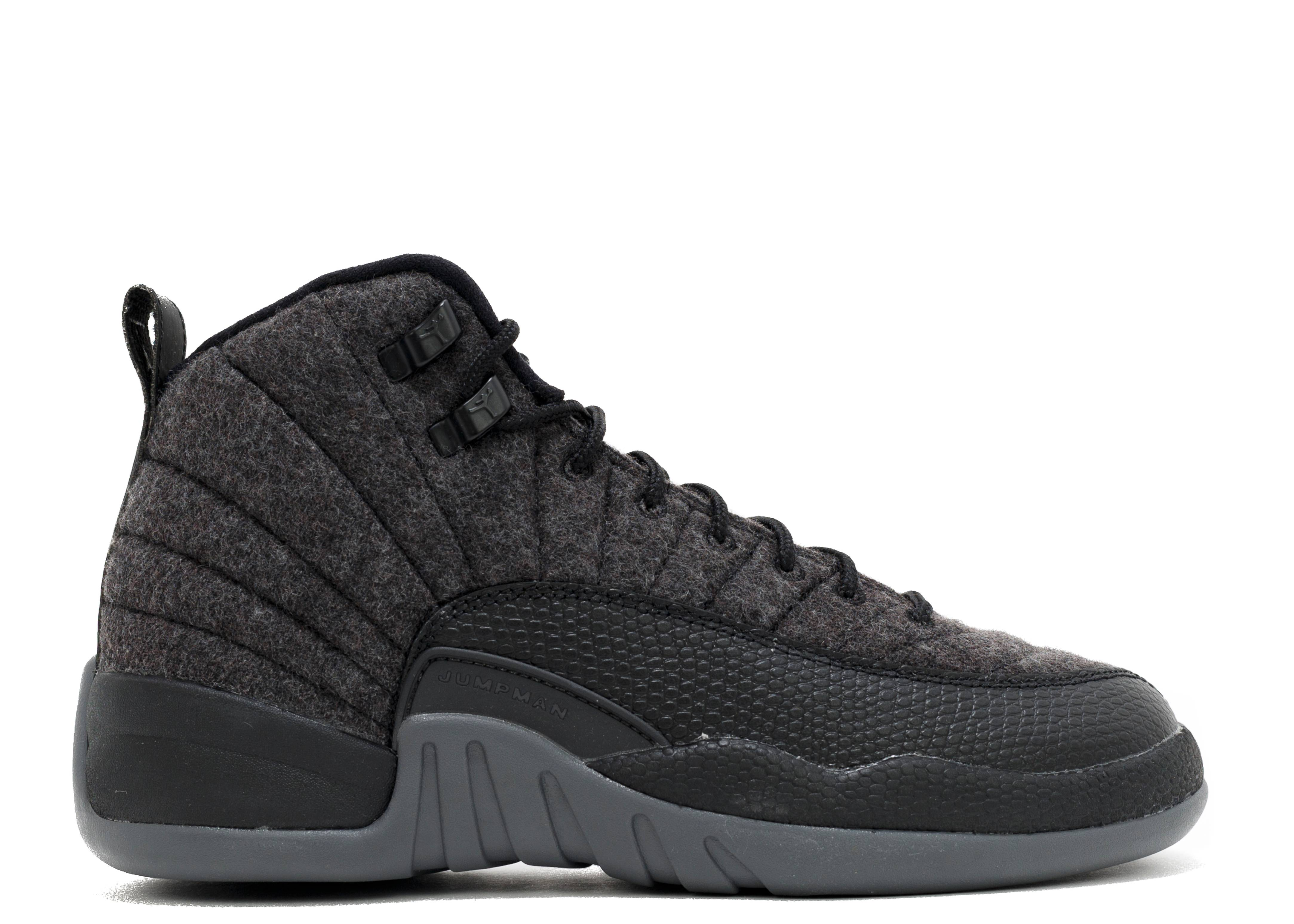 air jordan 12 retro wool bg (gs)