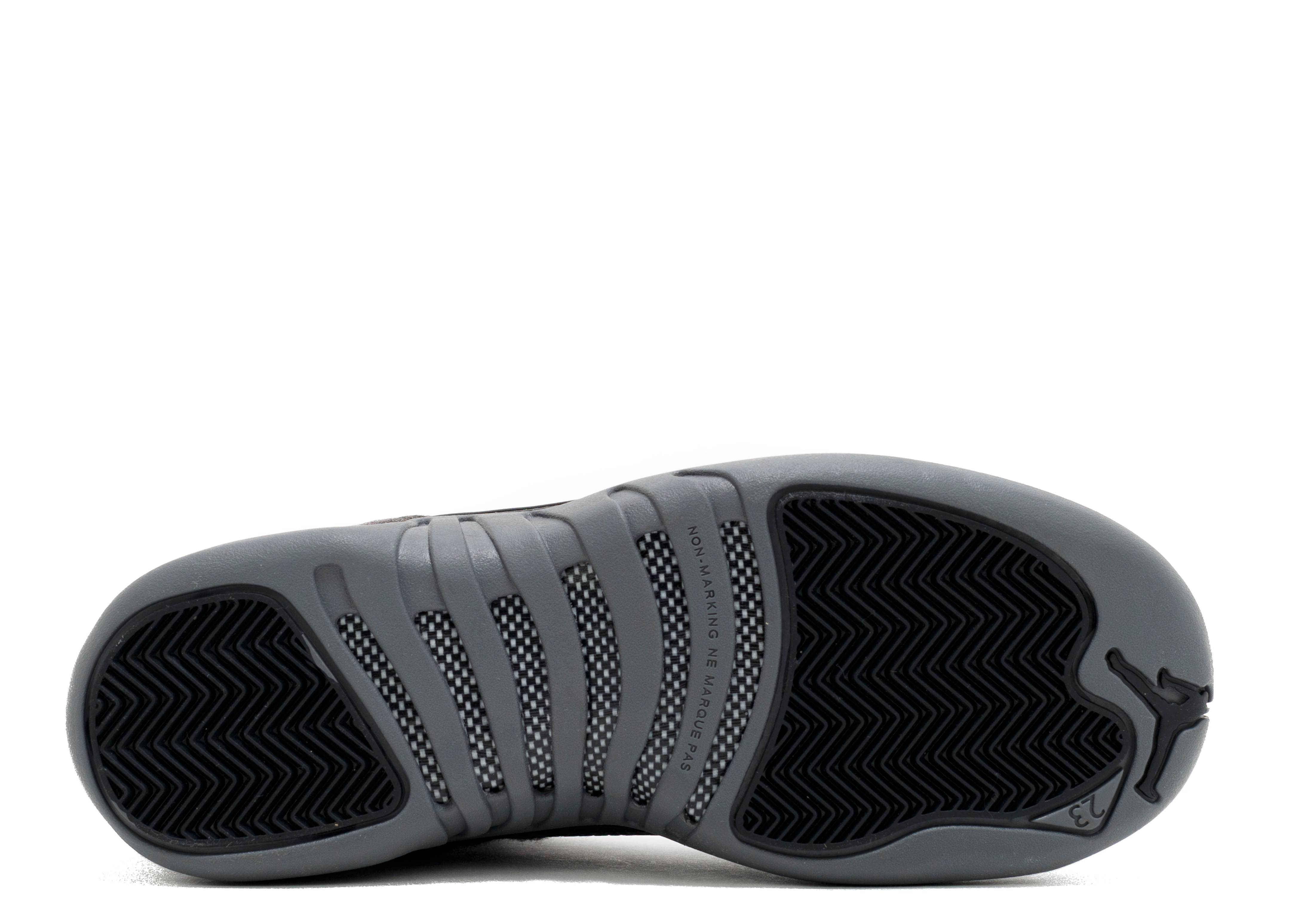 26f48db76e3899 Air Jordan 12 Retro Wool Bg (gs) - Air Jordan - 852626 003 - dark  grey-metallic silver-blac