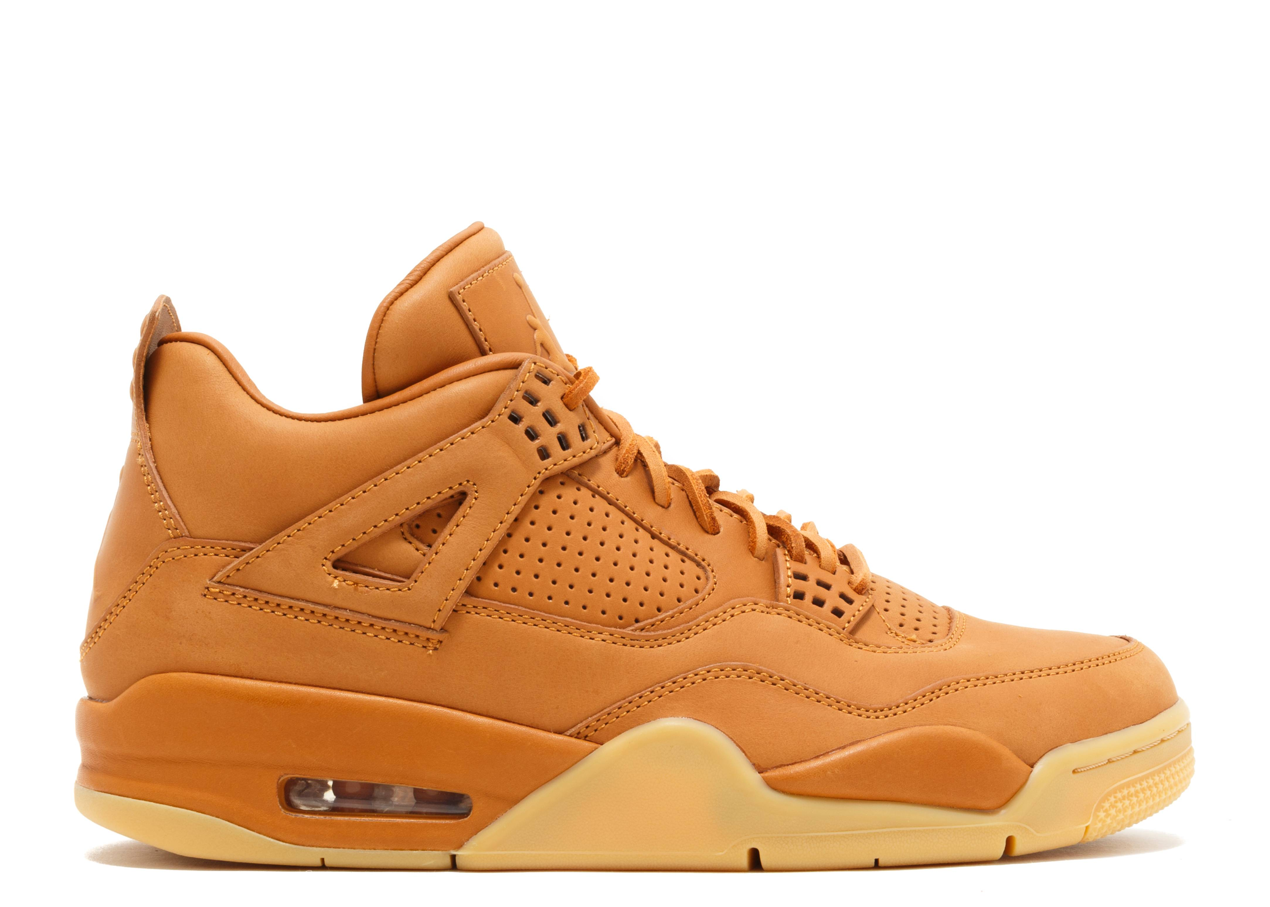 "air jordan 4 retro premium ""pinnacle ""wheat"""""