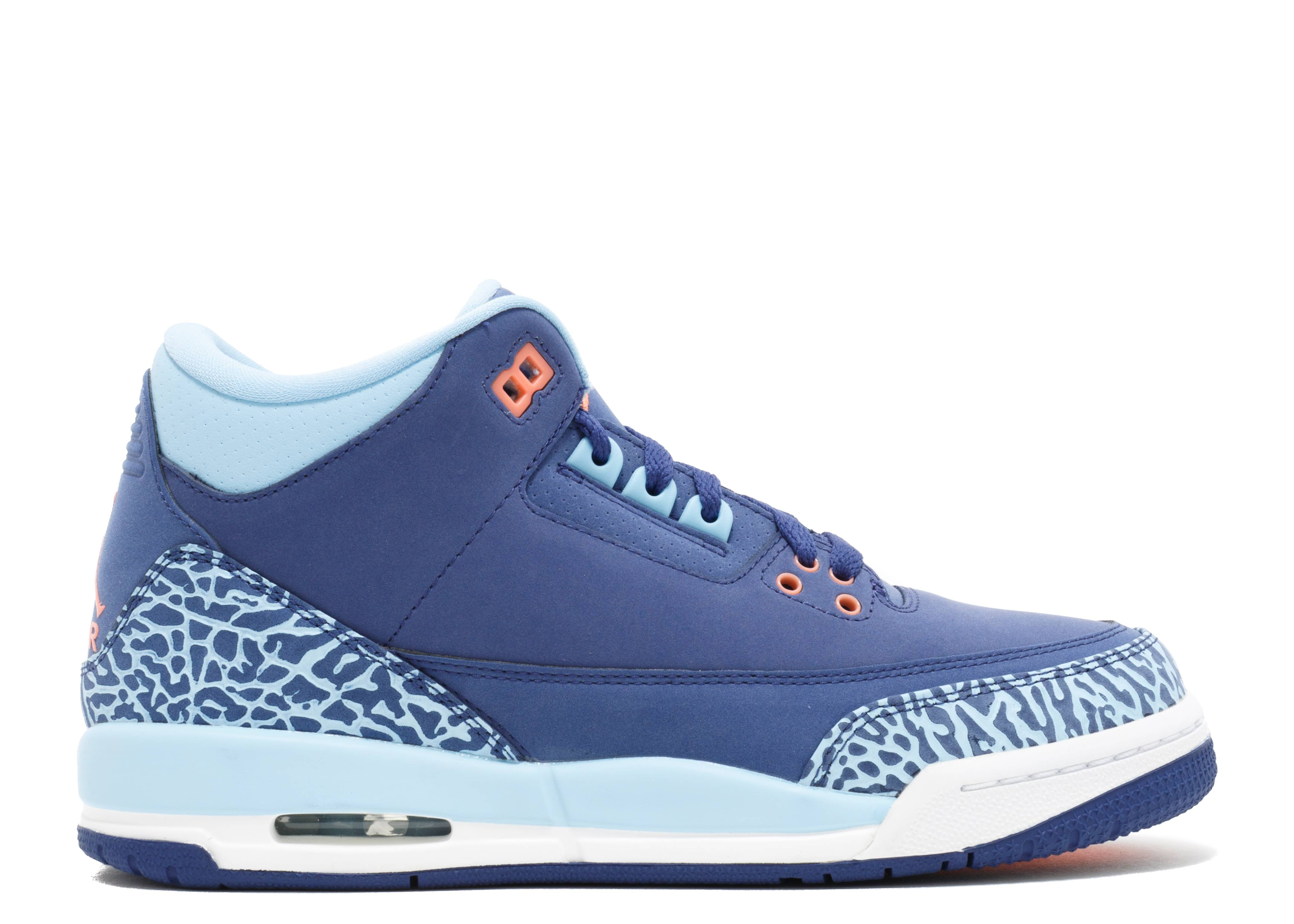 "air jordan 3 retro gg (gs) ""purple dust"""