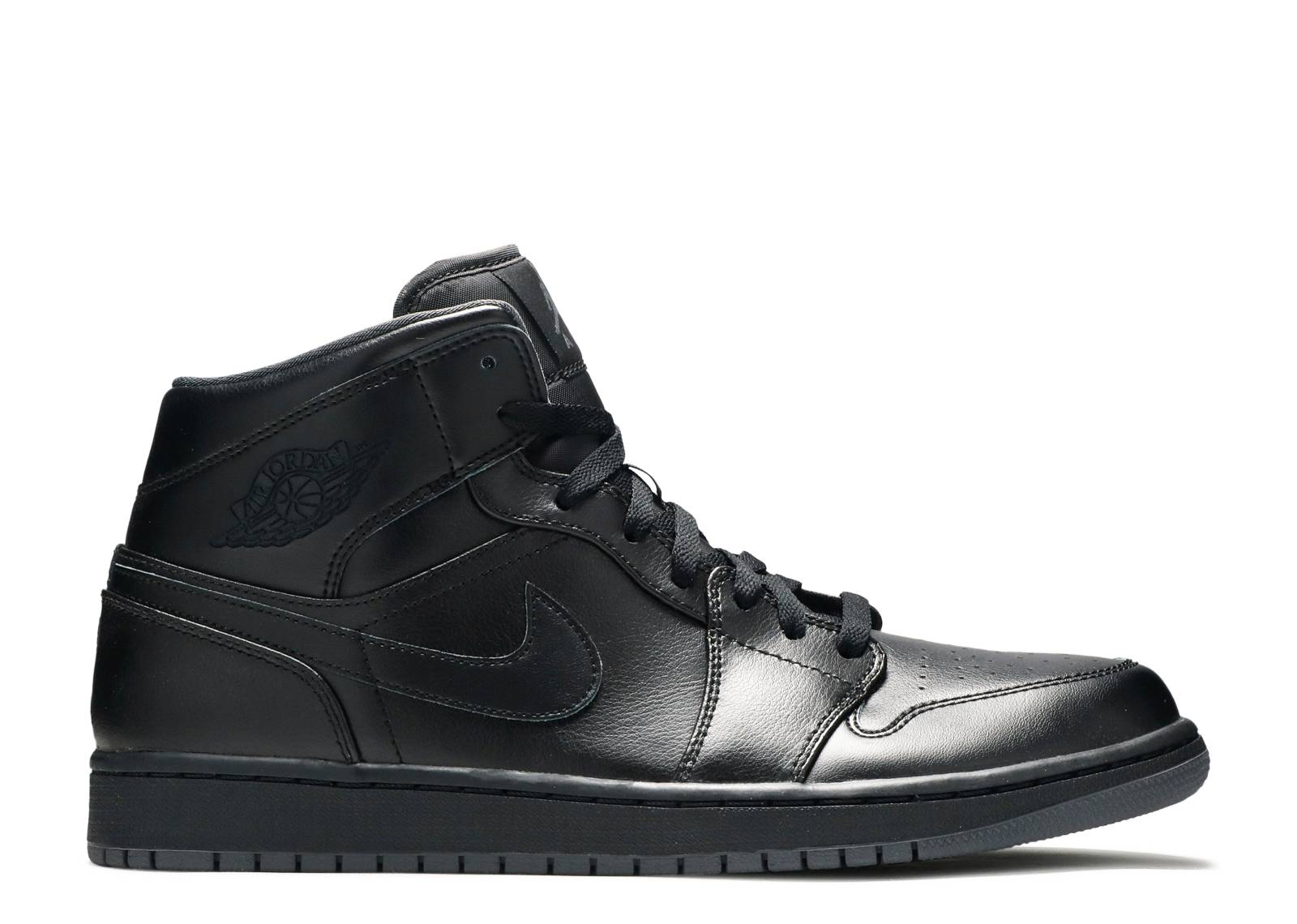 "air jordan 1 mid ""Black"""