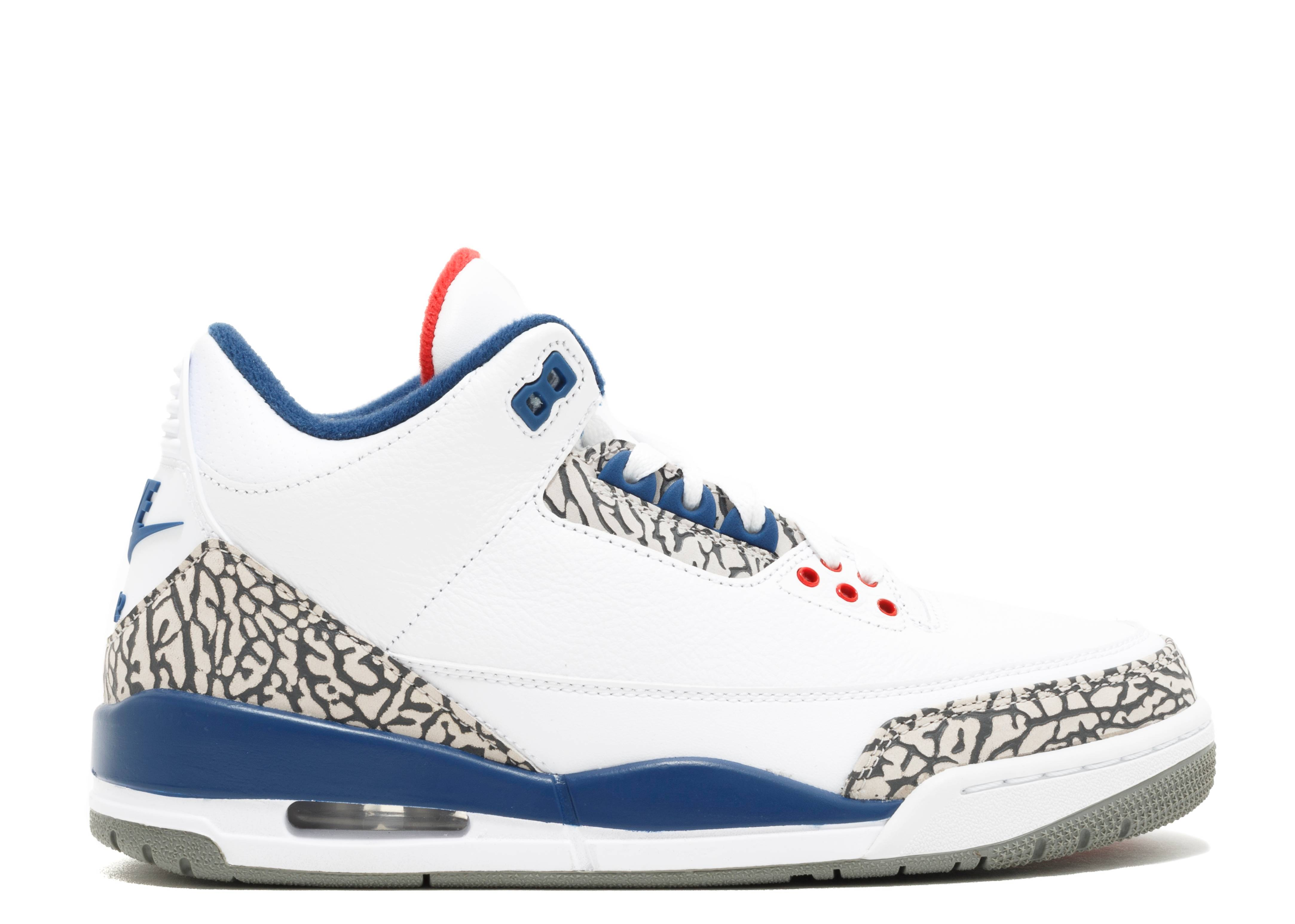 "air jordan 3 retro og ""true blue 2016 release"""