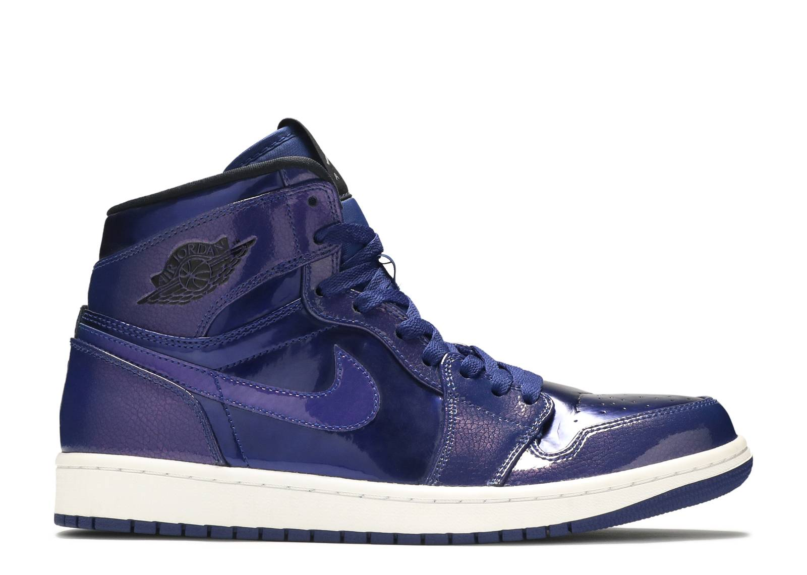 Air Jordan 1 Retro High - Air Jordan - 332550 420 - deep royal black ... f7a82c71c