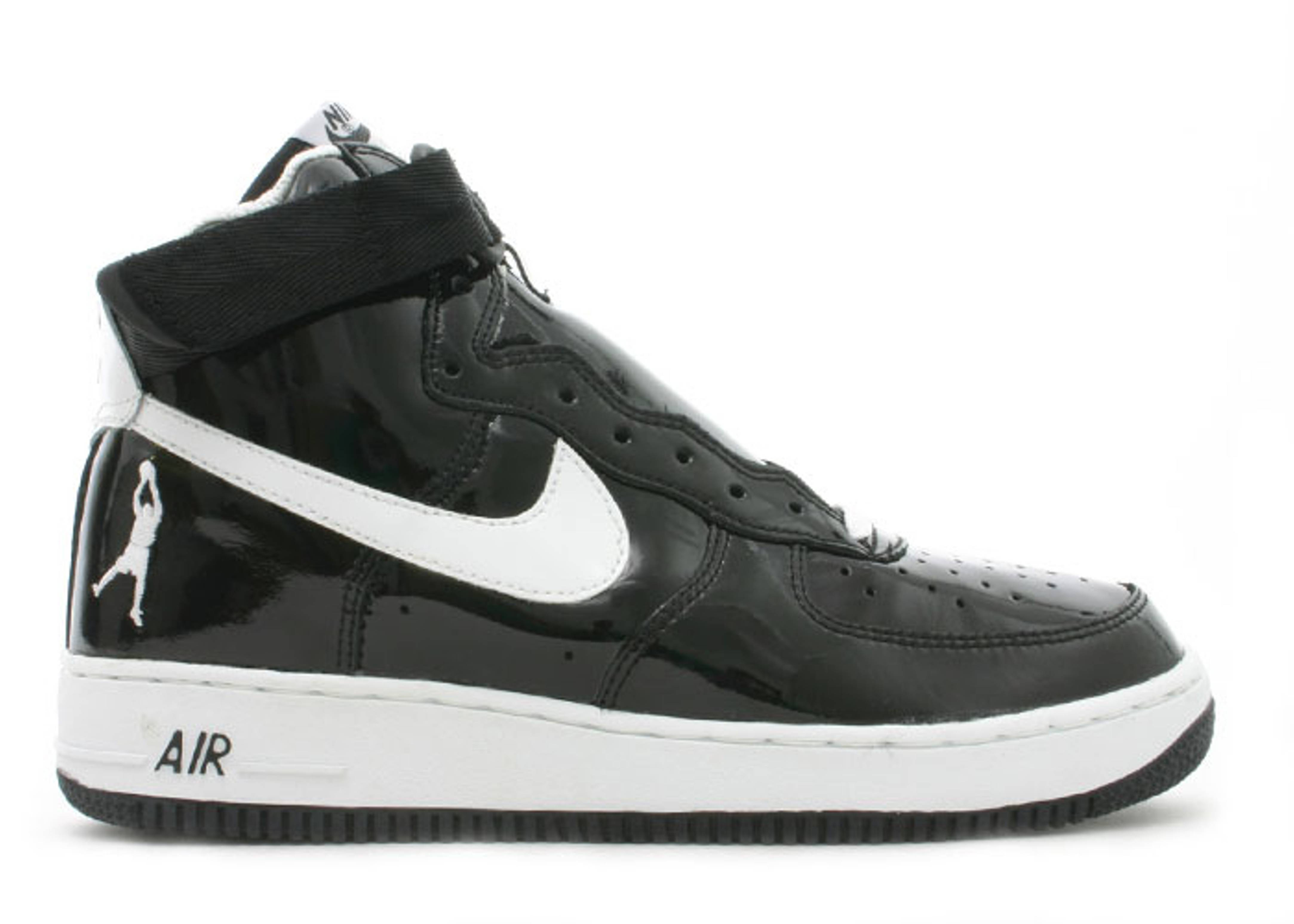 new product 0d677 46a02 usa nike air force 1 high sheed patent black white 0de5d 35f