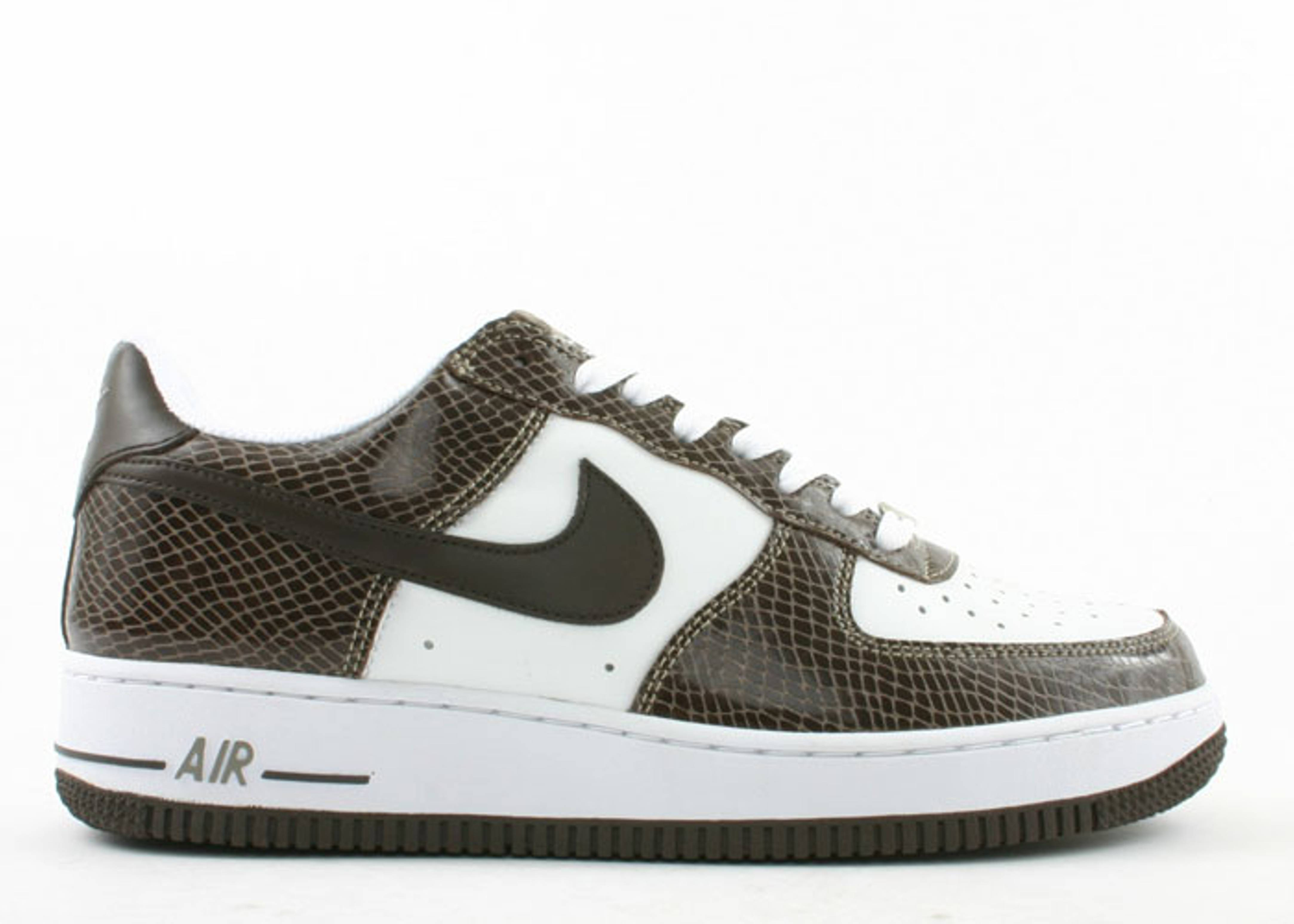 "air force 1 premium ""brown snake"""