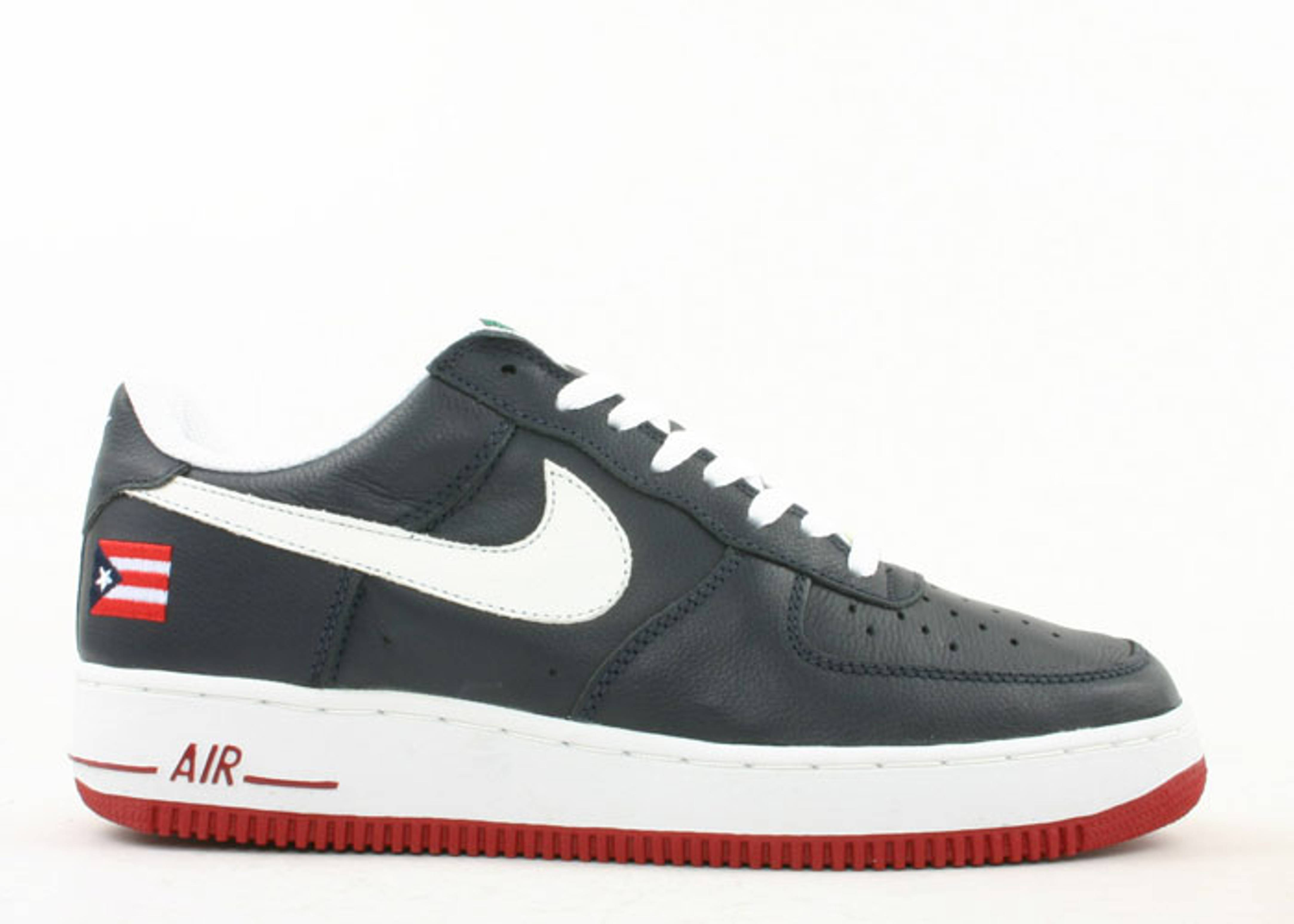Nike Air Force 1 Chaussures De Basket-ball Université Bleu / Blanc / Obsidienne