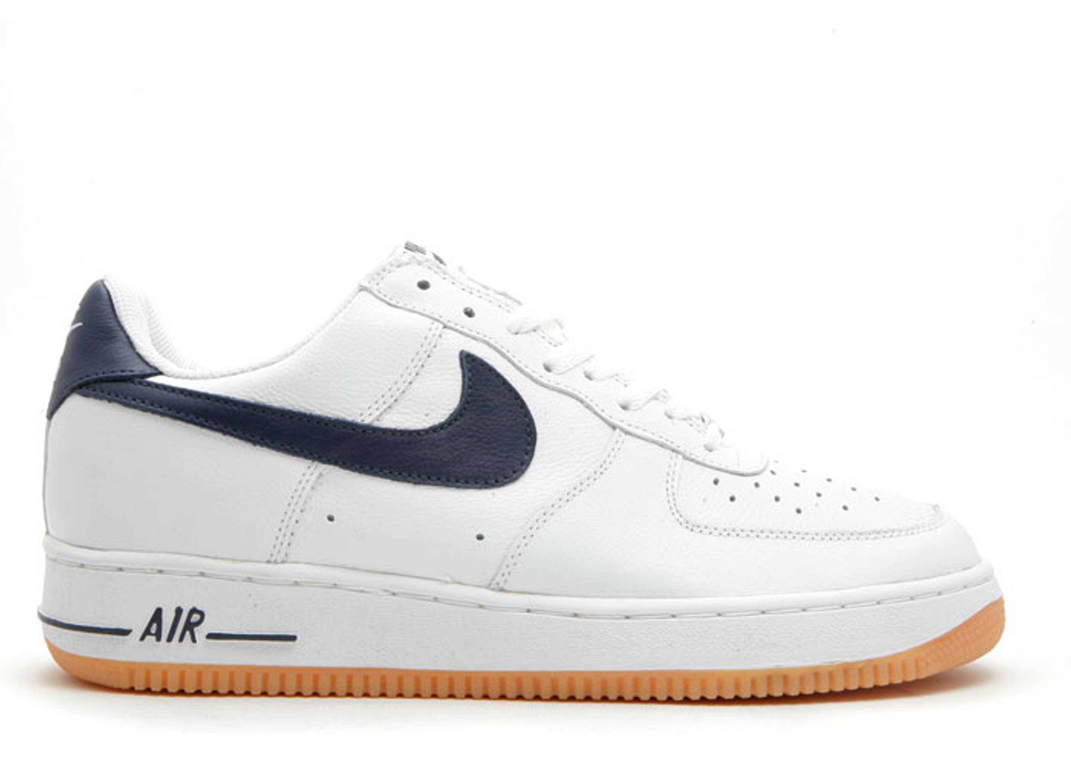 online retailer 06087 32bb2 ... uk air force 1 low euro nike 305200 142 white midnight navy gum flight  club 6f9e7