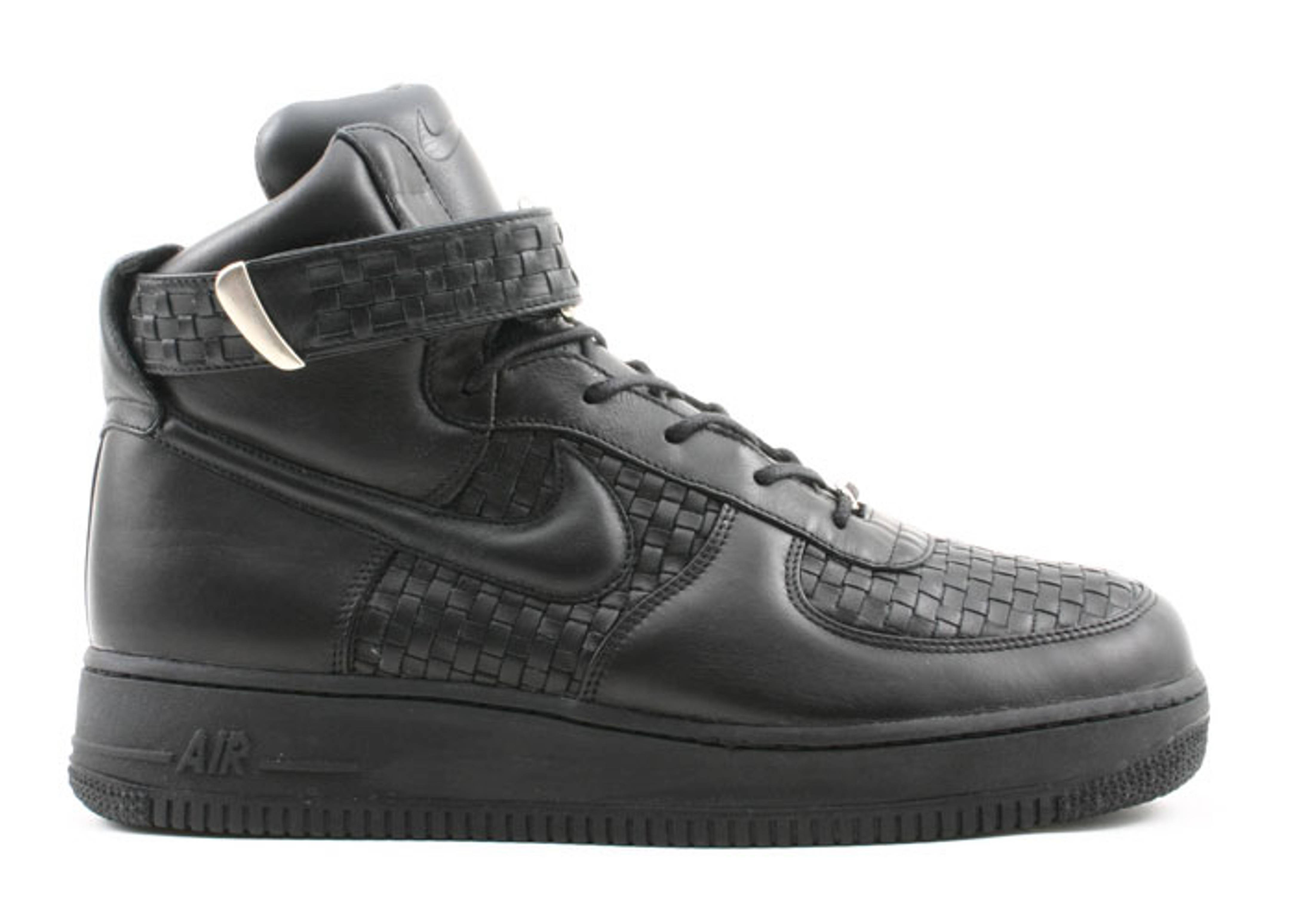 new style 80977 55101 Air Force 1 High Lux 04 - Nike - 311964 001 - black black   Flight Club