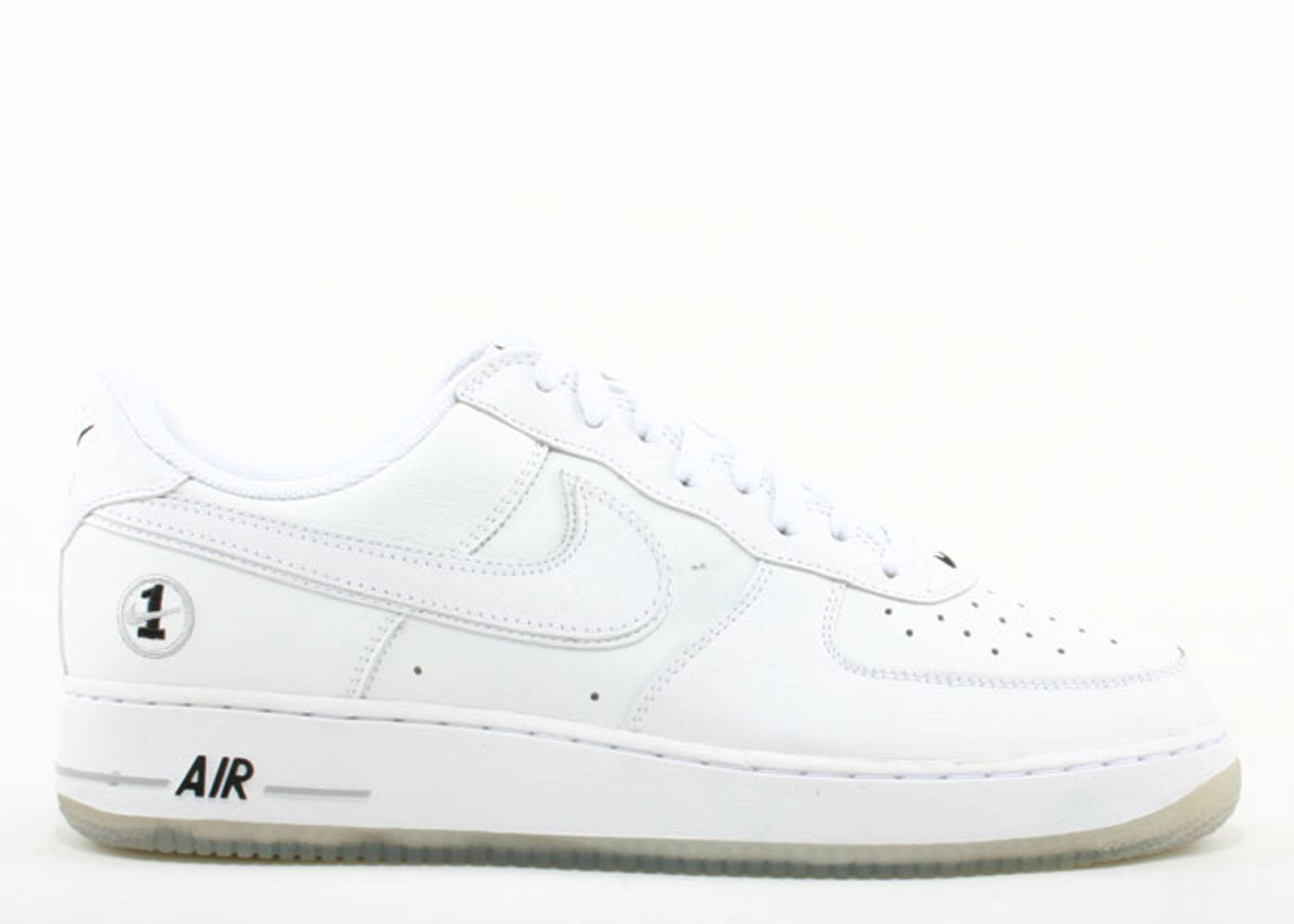 online store 1a9f8 cfe03 Air Force 1 - Nike - 306353 904 - white/white-black-neutral grey ...