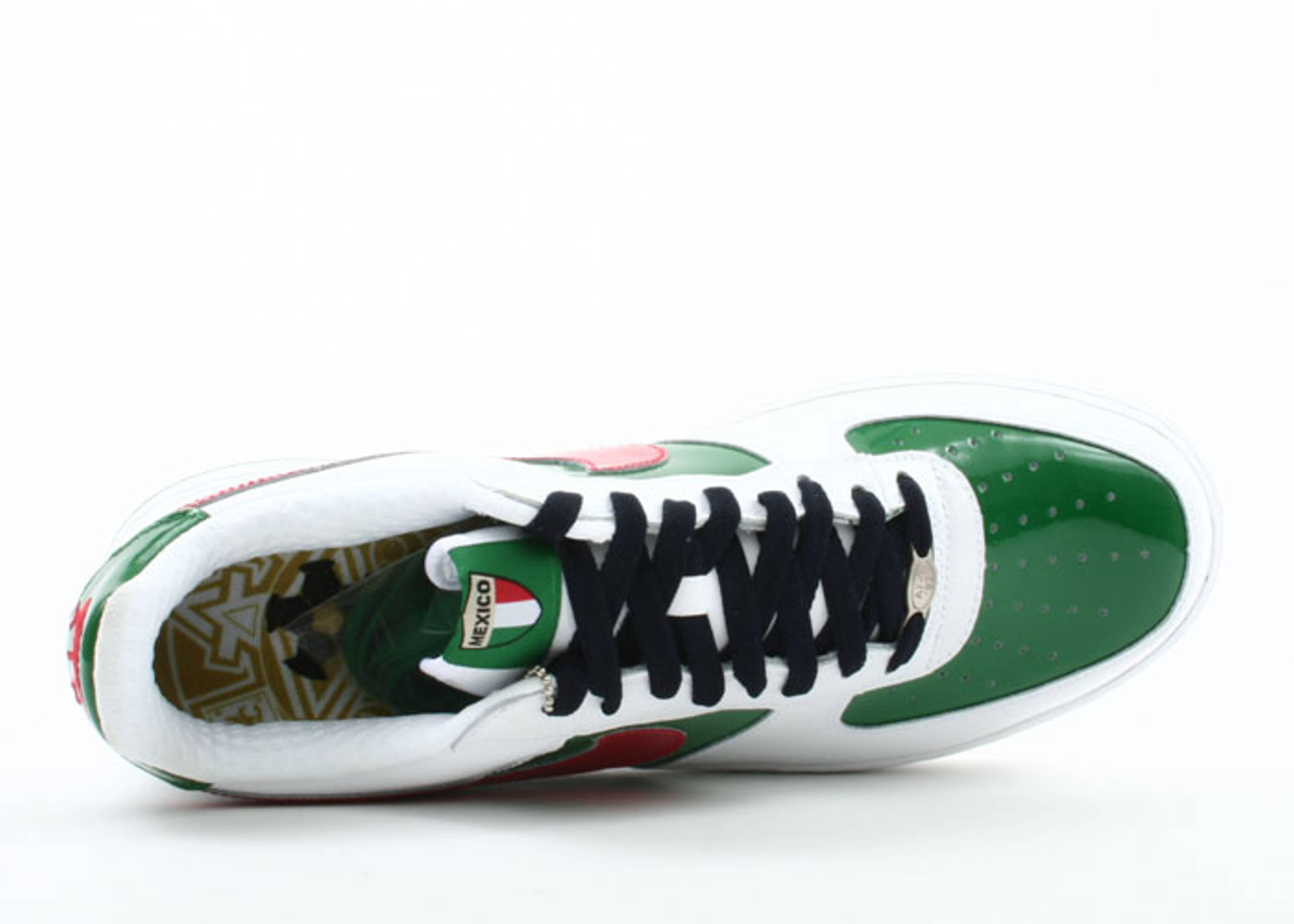 Respeto a ti mismo codicioso Grande  Air Force 1 Premium 'Mexico World Cup' - Nike - 309096 162 - white/sport  red-pine green-obsidian | Flight Club