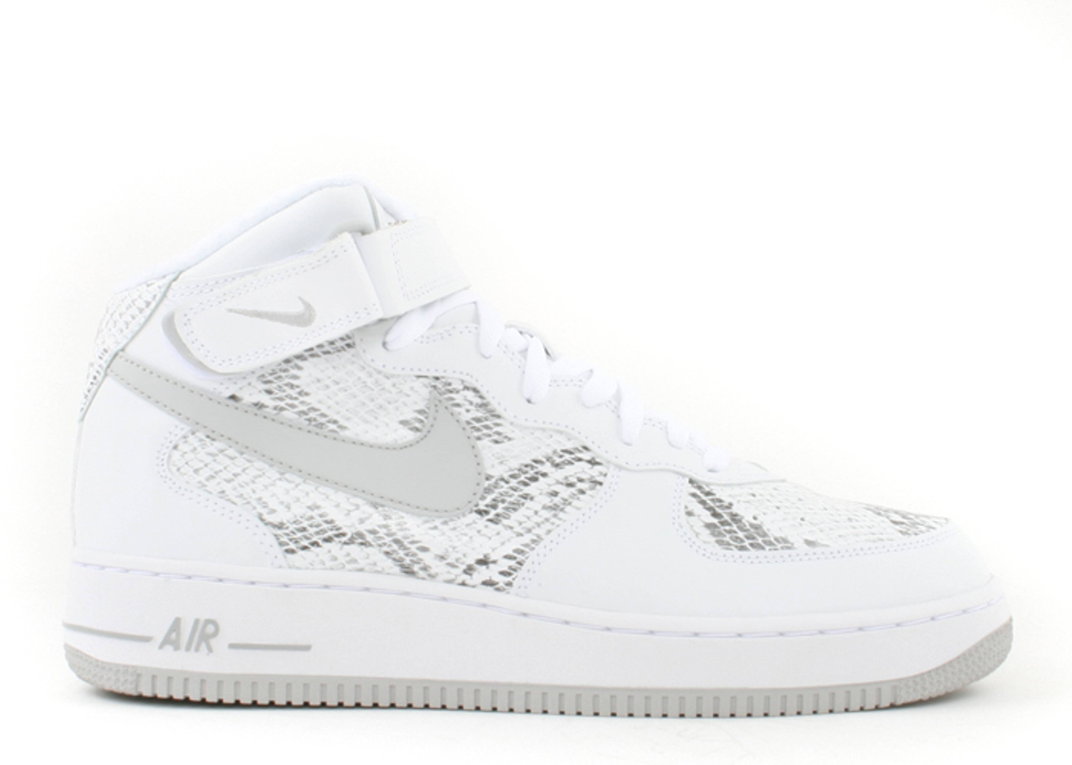 """air force 1 mid premium """"cocoa snake"""""""