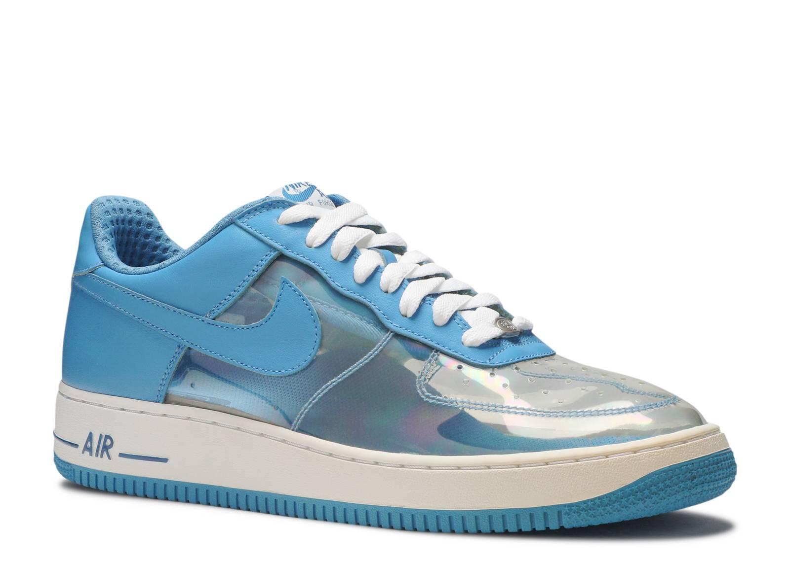apoyo tema Mostrarte  Air Force 1 Premium 'Fantastic 4 Invisible Woman' - Nike - 313641 941 -  clear/harbor blue-military blue-white | Flight Club