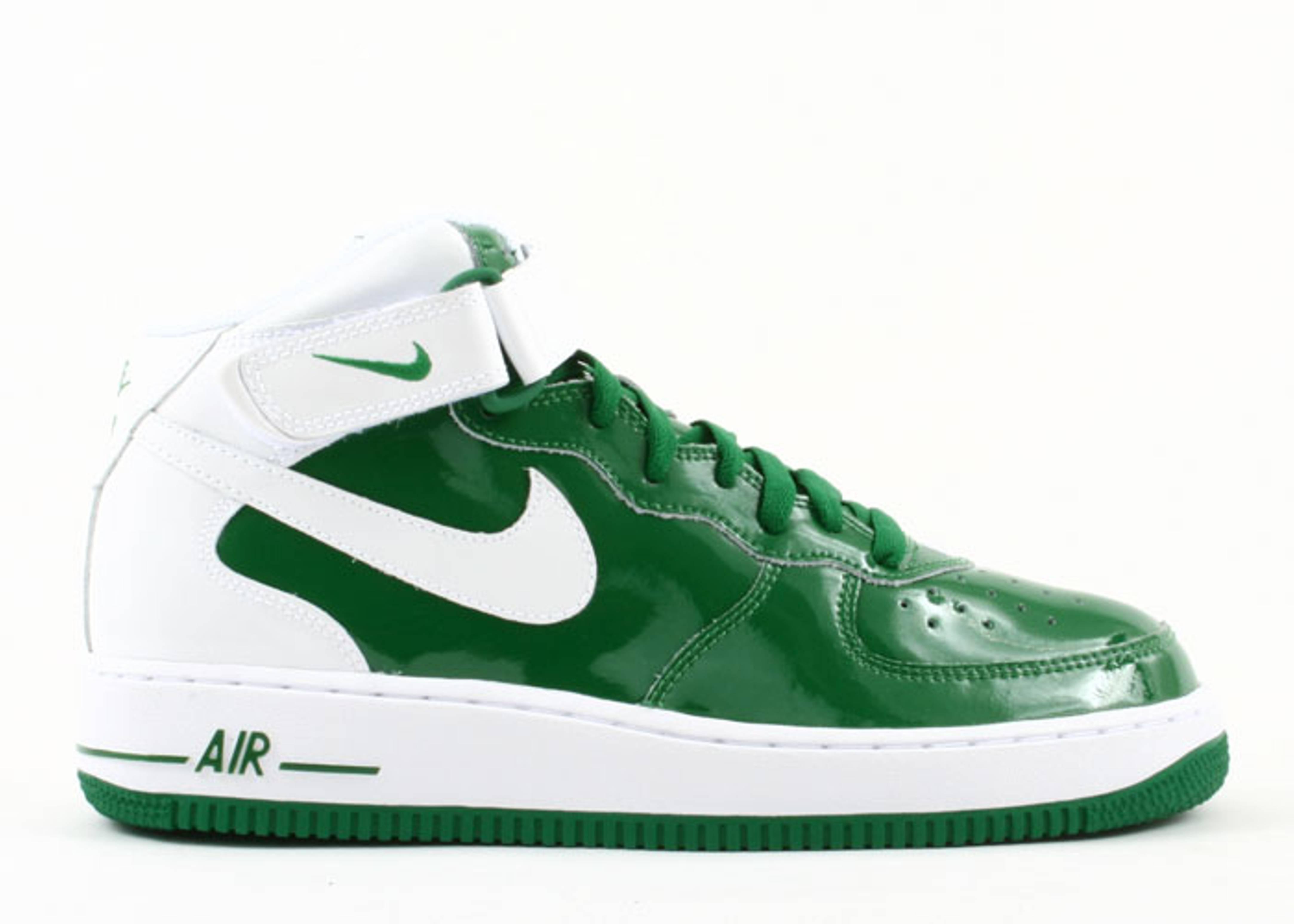 Livraison gratuite extrêmement Nike Air Force 1 Mi Pin Blanc Vert Vert prix incroyable nouvelle remise remise pKkYPN