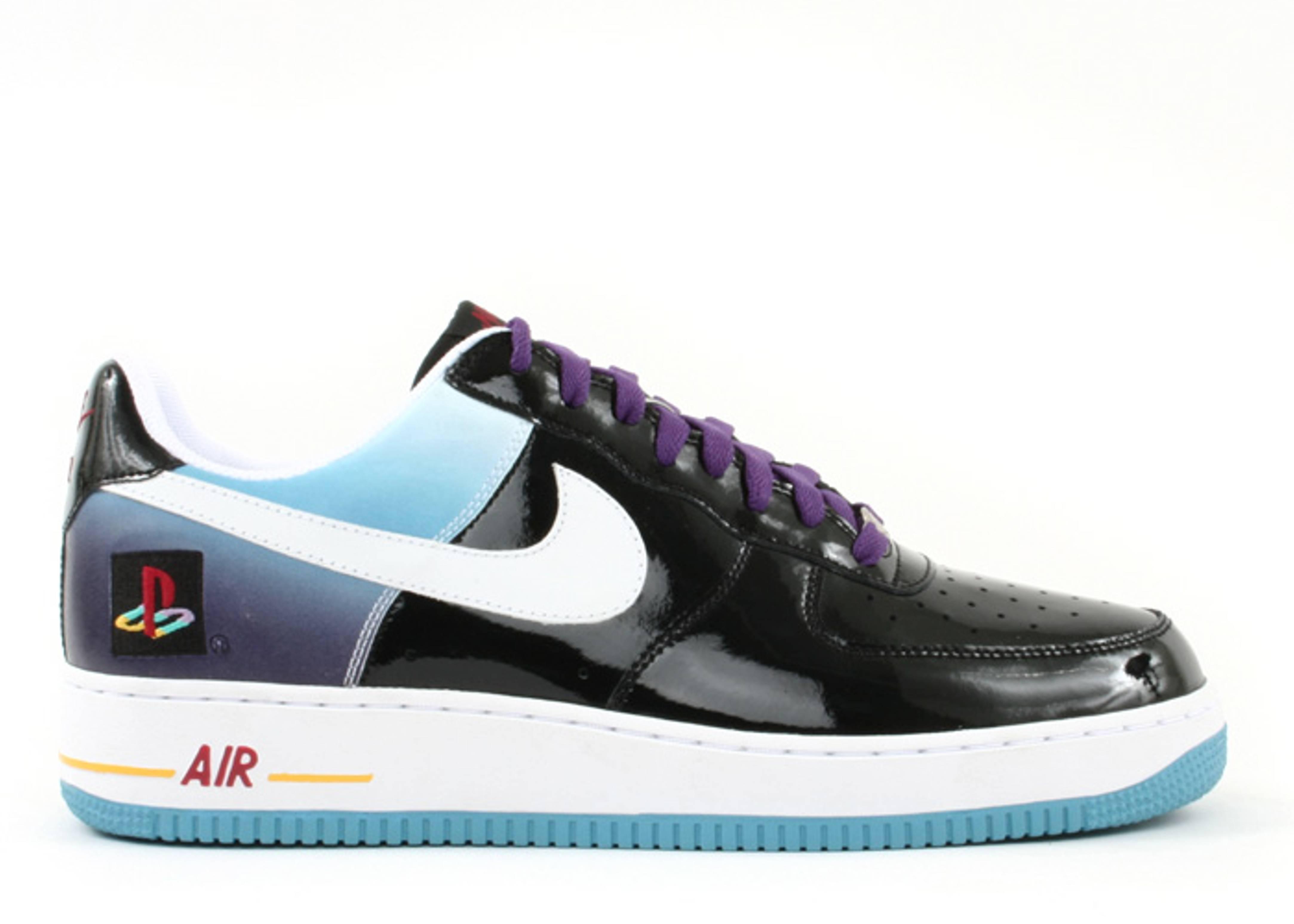 Air Force 1 Low 'Playstation' Promo - Nike - BMK067 M6 C1 - black ...
