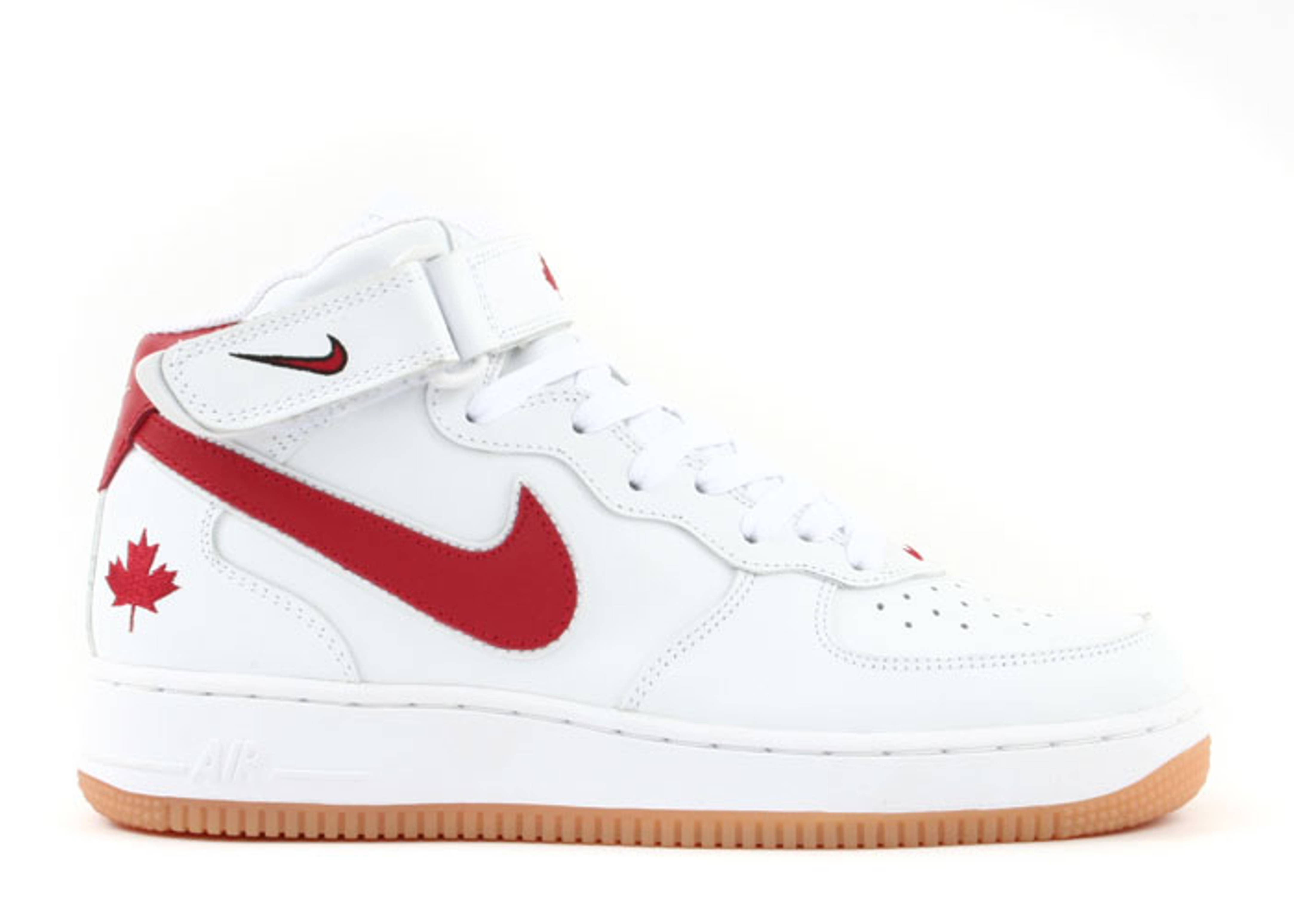 "air force 1 mid ""canada"""