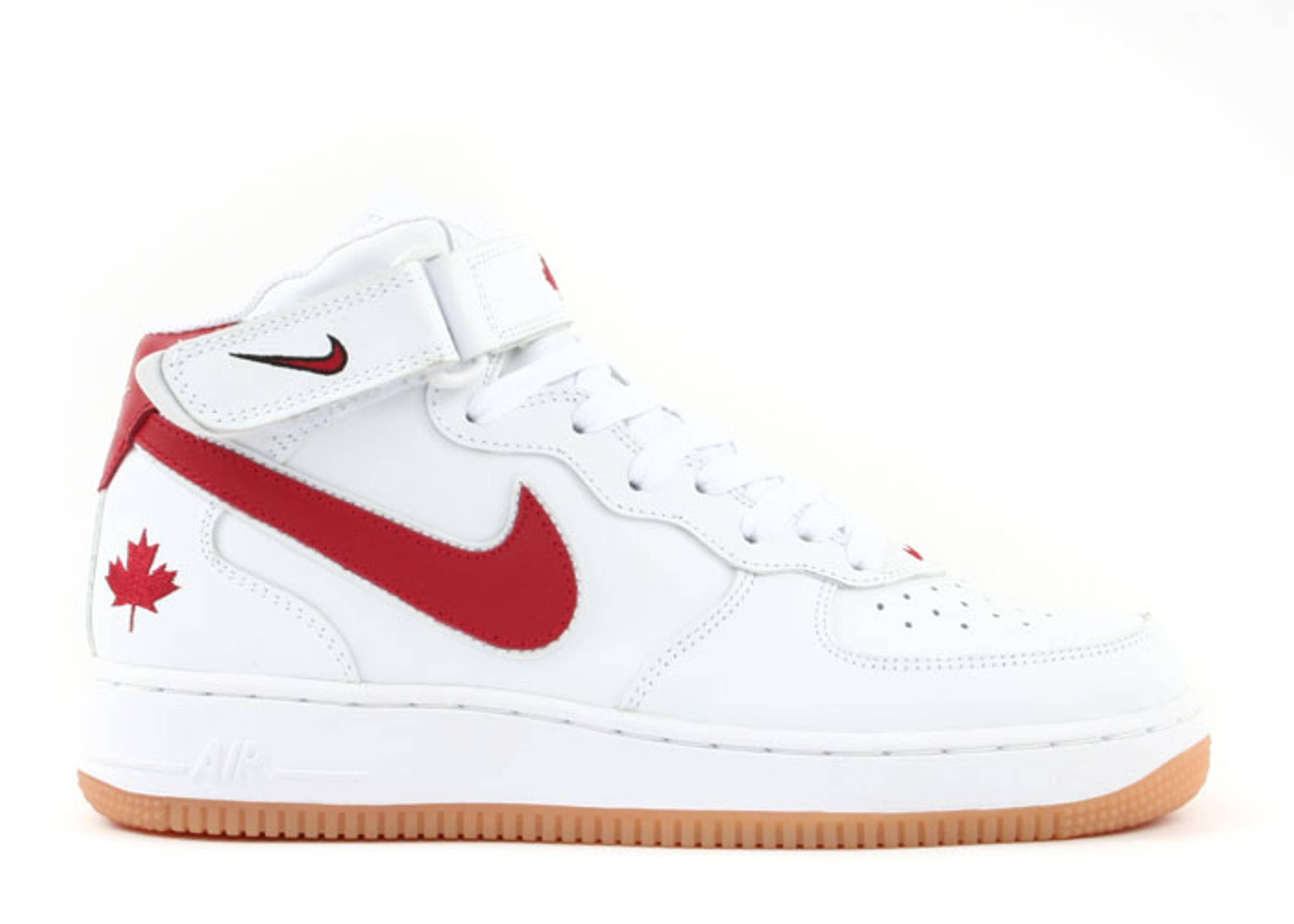 Air Force 1 Mid 'Canada' - Nike - 309955 161 - white/varsity ...