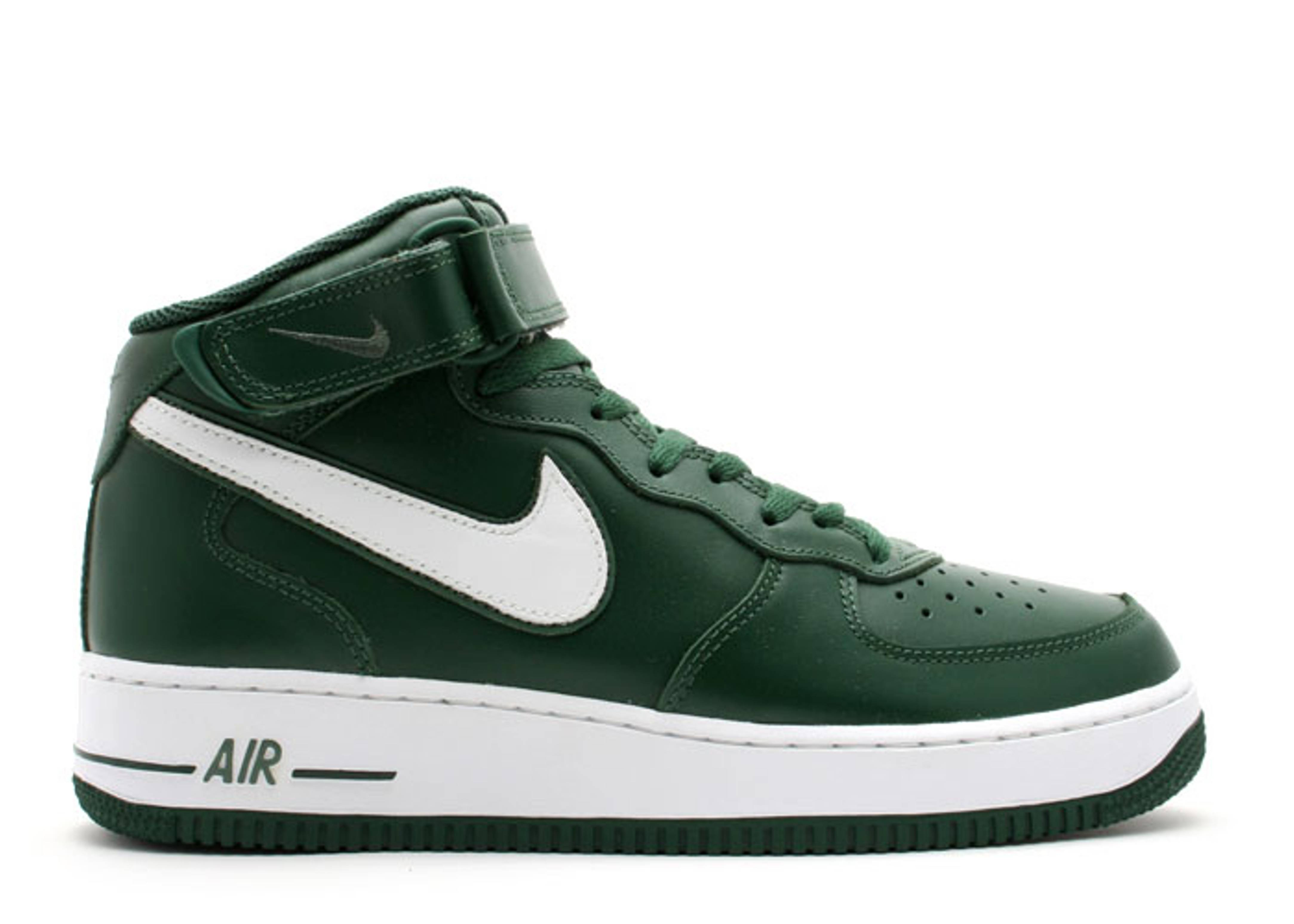 Air Force 1 Mid - Nike - 306352 311 - black forest/white-nori | Flight Club