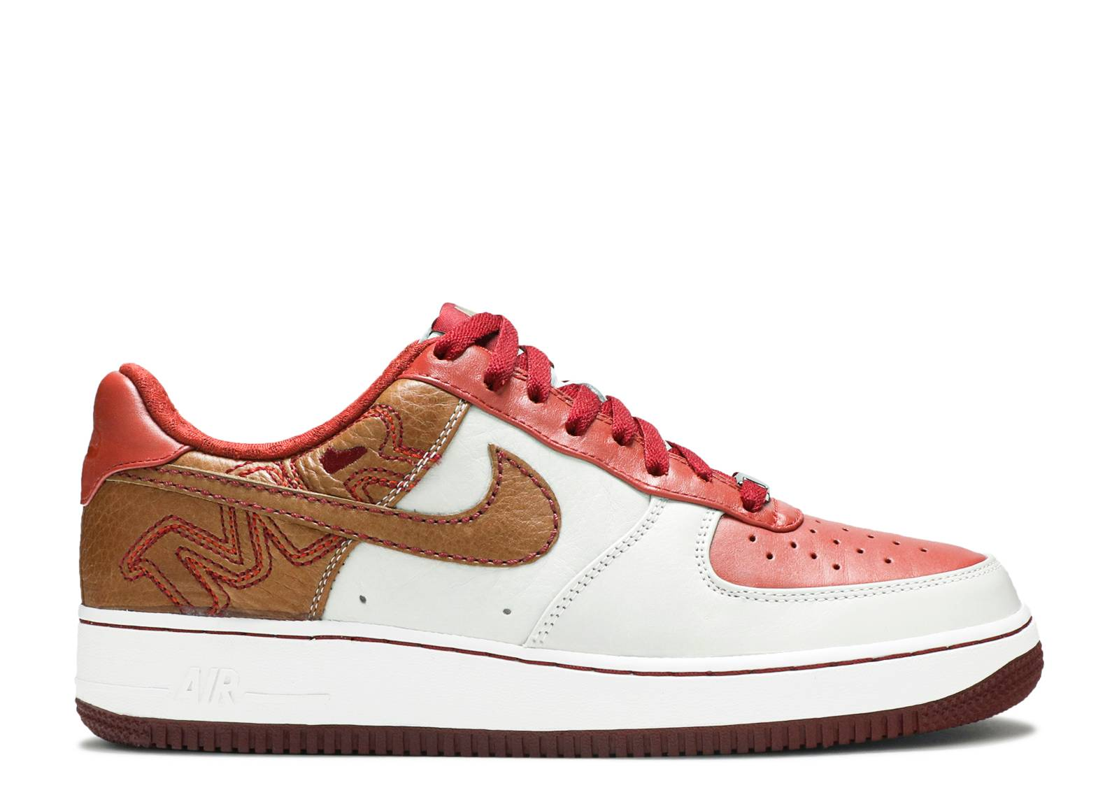 899c48c68656 Air Force 1 Premium 07 - Nike - 315180 121 - white pinenut-terra ...