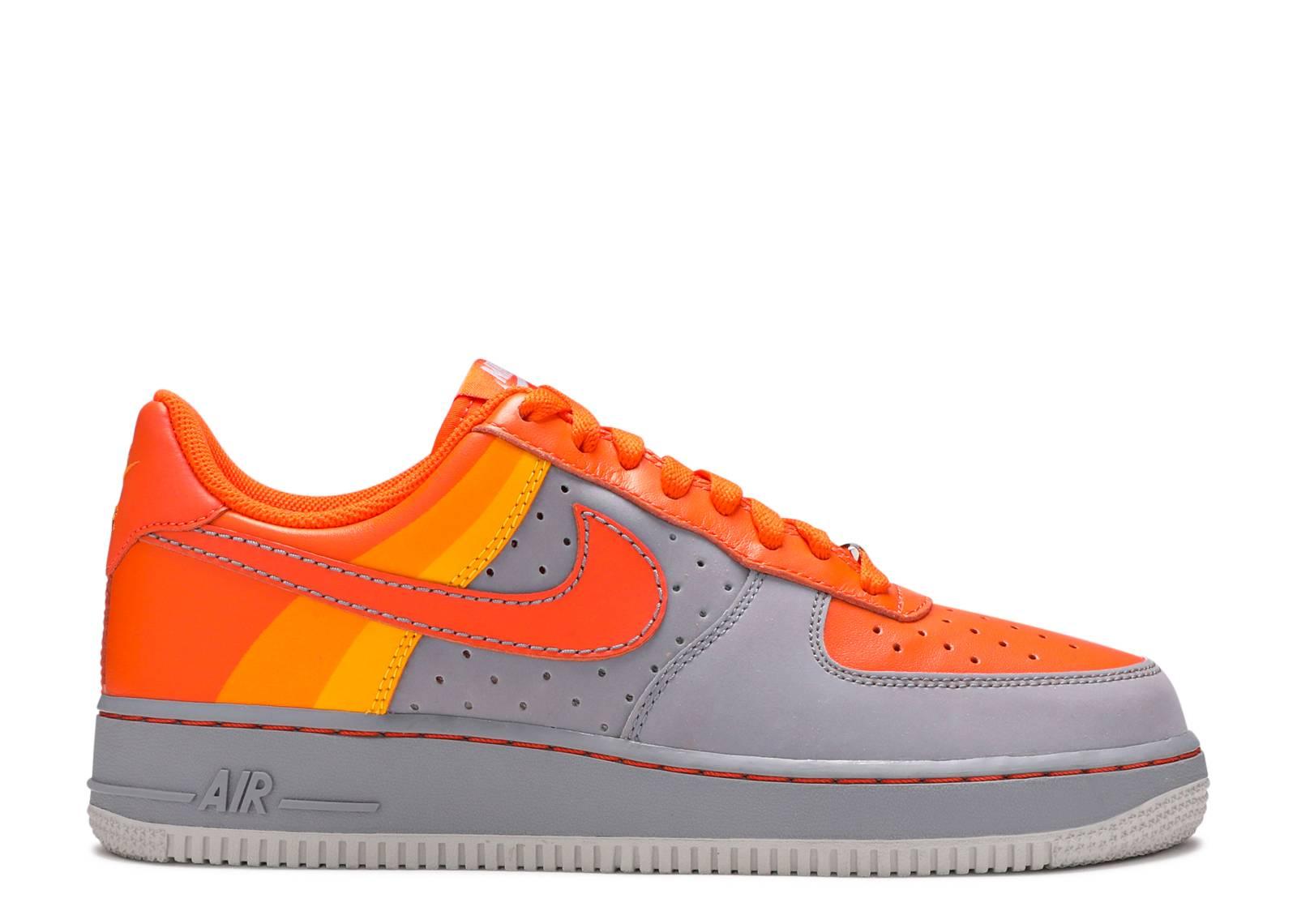 All Orange Nike Shoes
