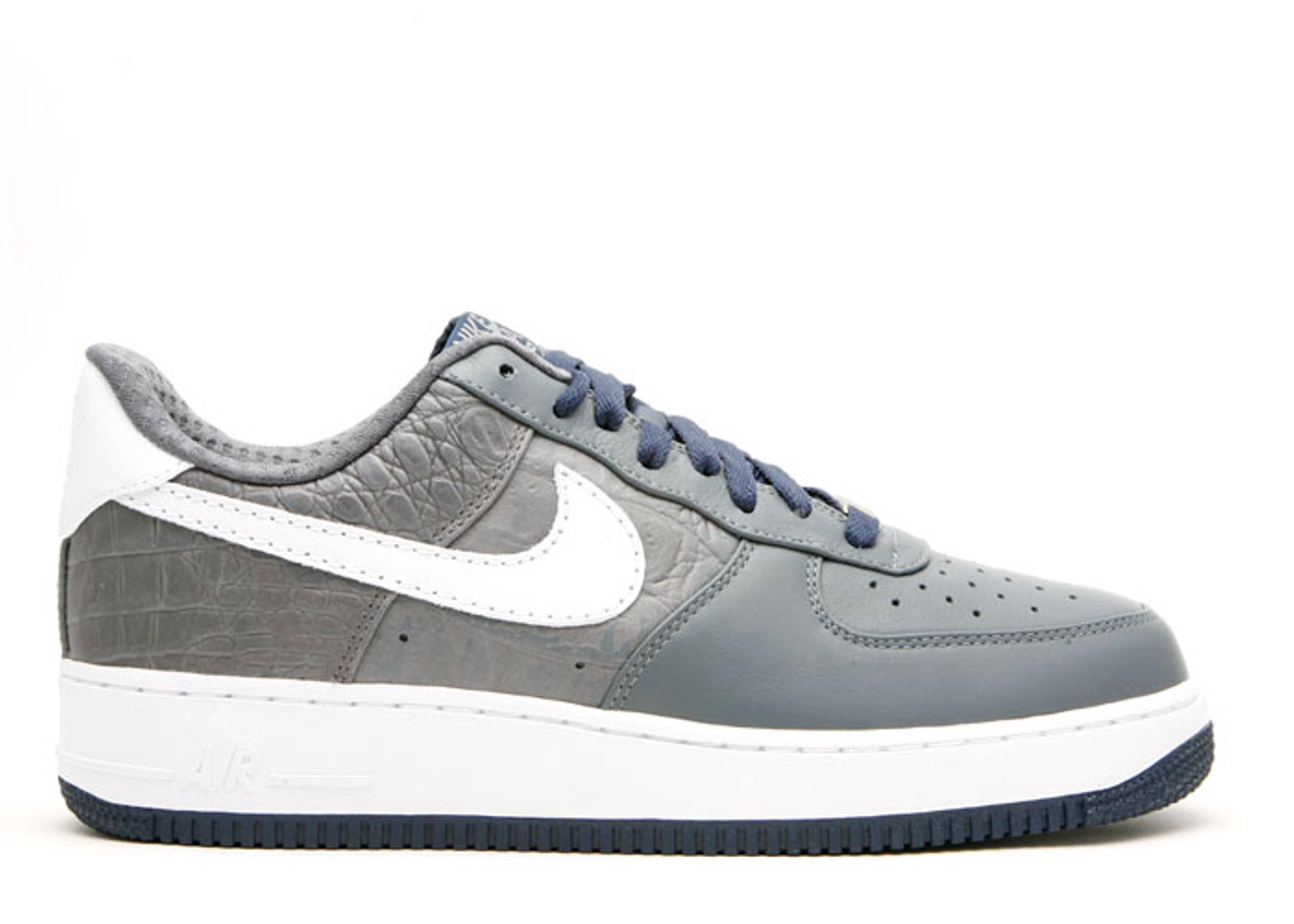 72a65e3ea259ca Air Force 1 Premium 07 - Nike - 315180 011 - flint grey white ...