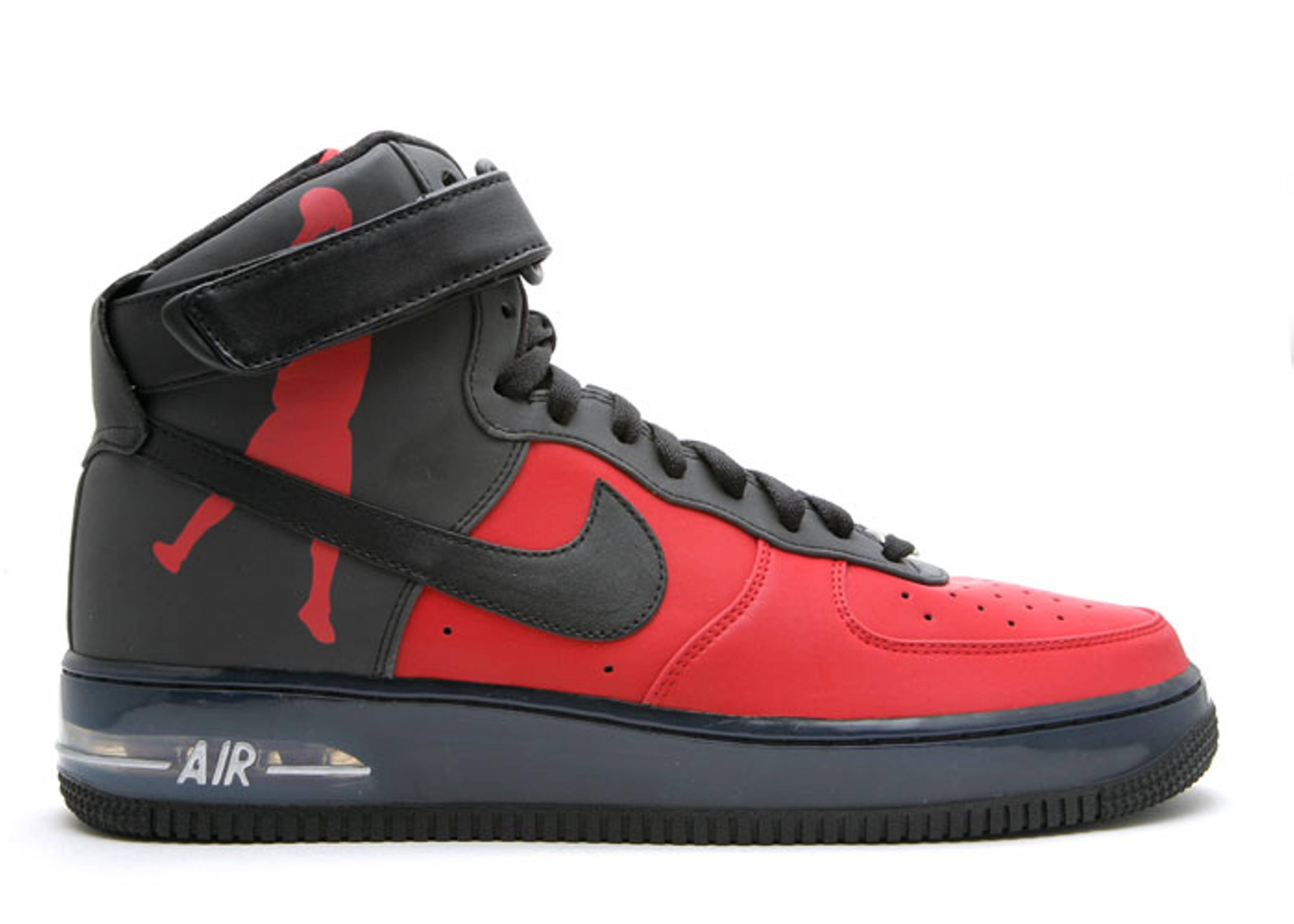 air force 1 high supreme black varsity red black. Black Bedroom Furniture Sets. Home Design Ideas
