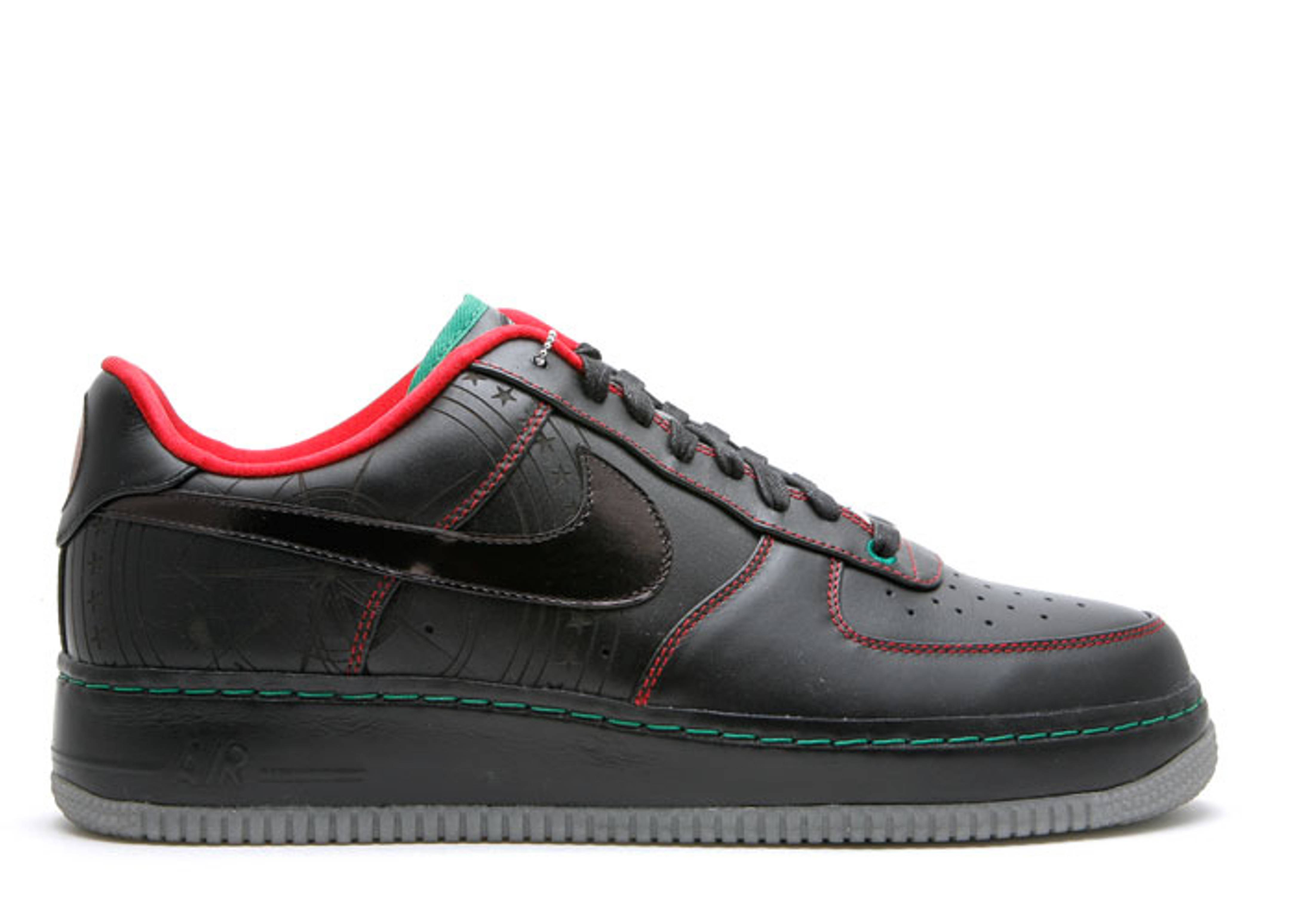 "air force 1 bhm tz ""black history month 2009"""