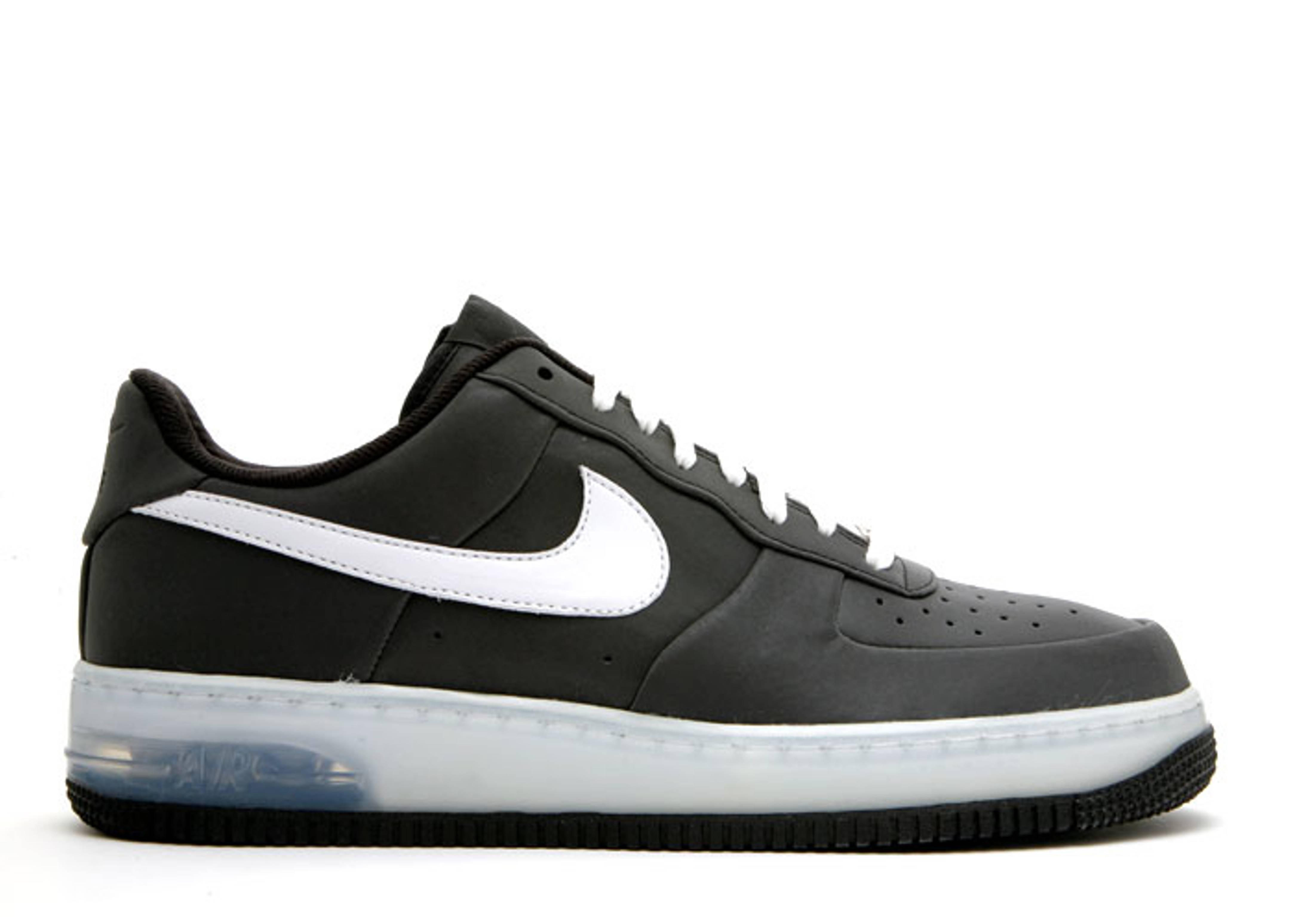 Nike Air Force 1 Supreme Max Air 3M Black White,nike shoes