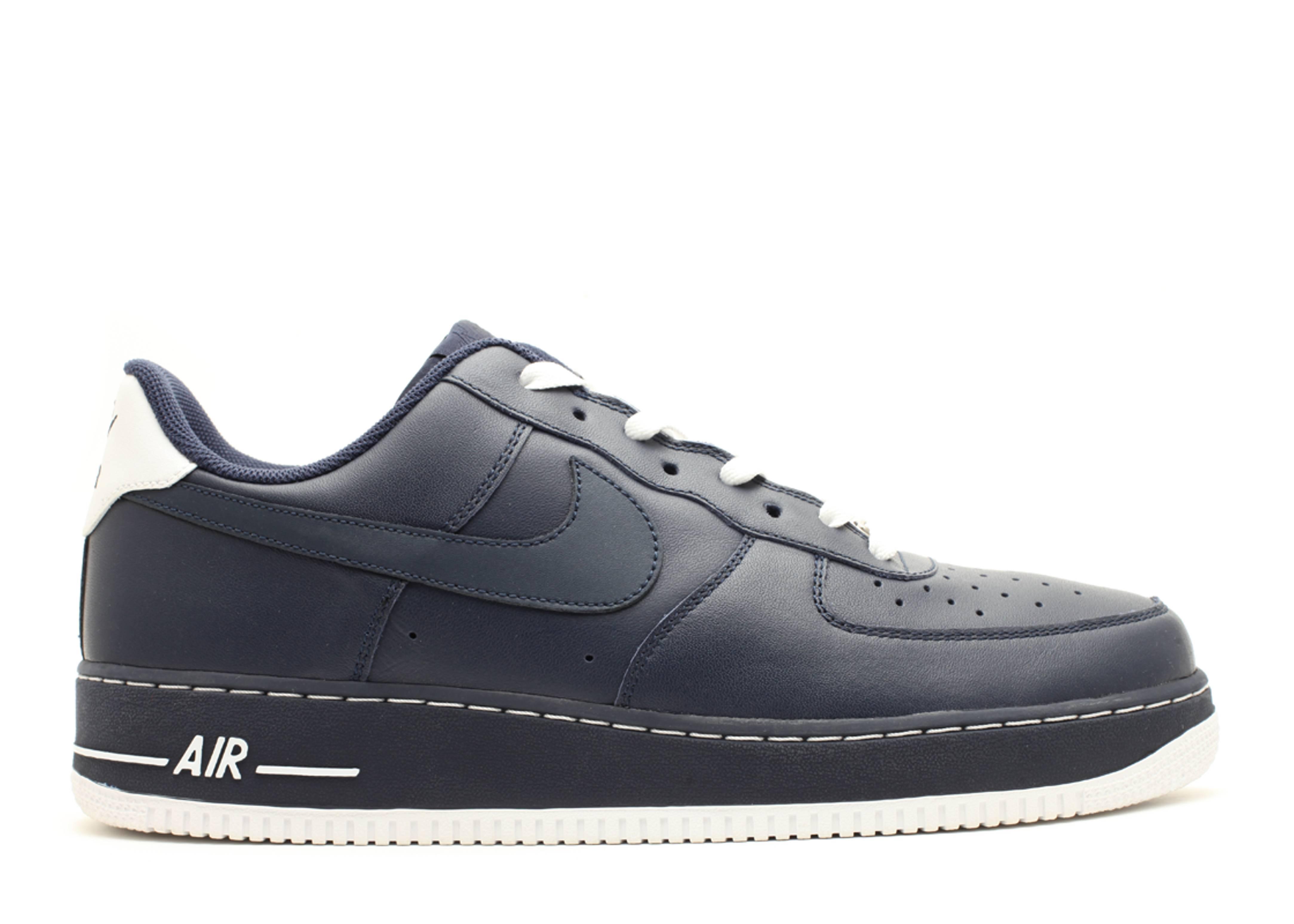 online store 8d942 b5565 Air Force 1 - Nike - 315122 411 - navy blue white   Flight Club