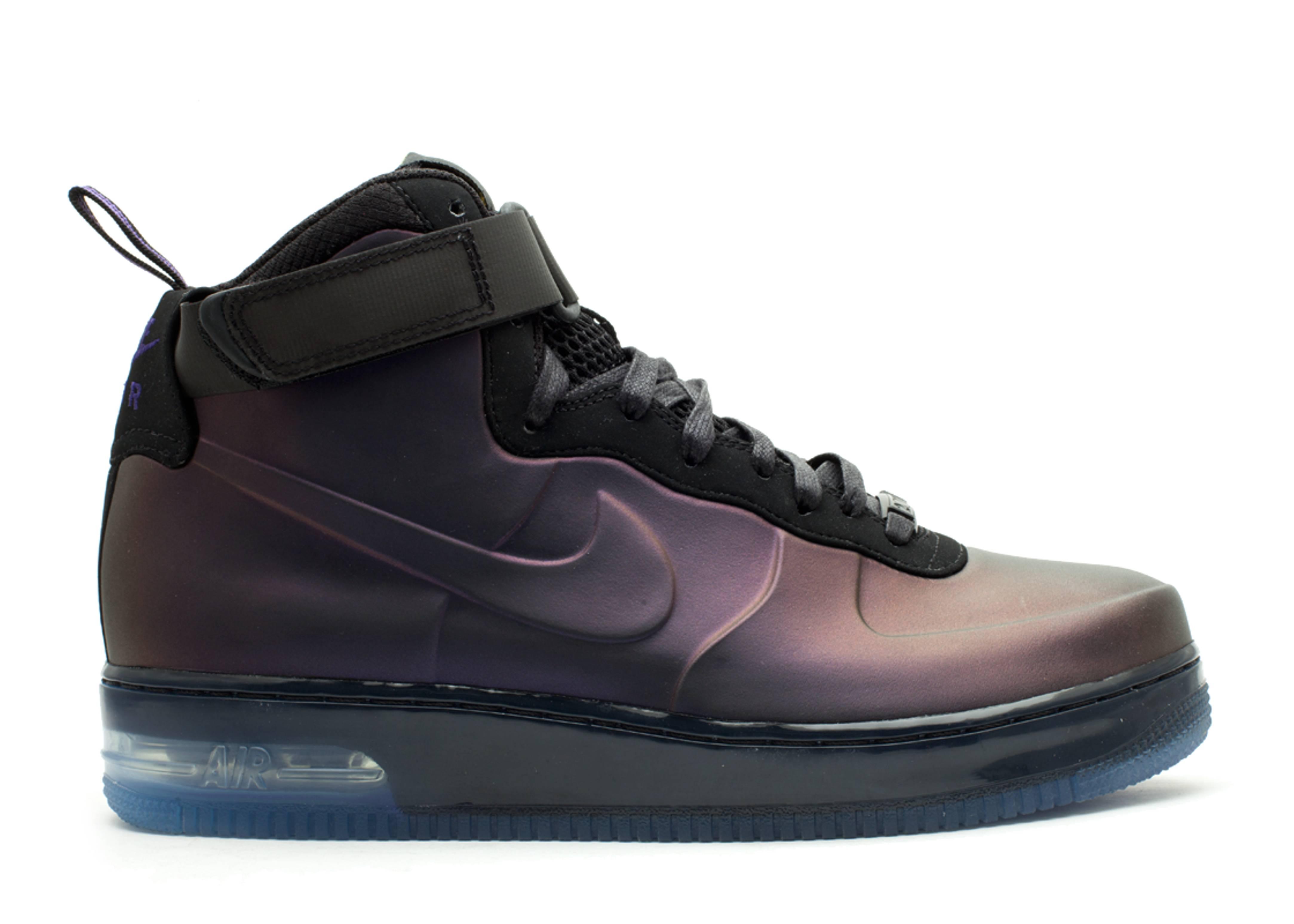 Men Nike Air Force 1 Foamposite Kobe Bryant Varsity Purple Varsity Purple Black Shoes
