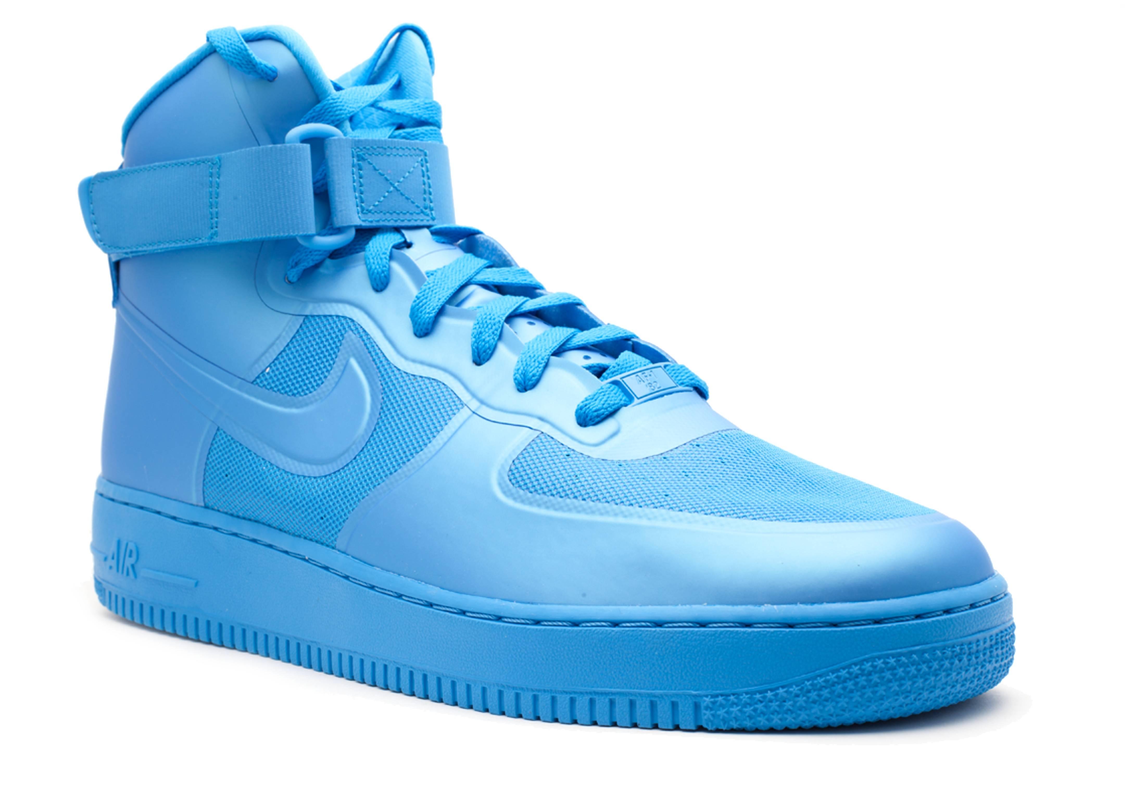 Nike Air Force 1 Hi Hyperfuse Premium Blue Glow 2011 454433