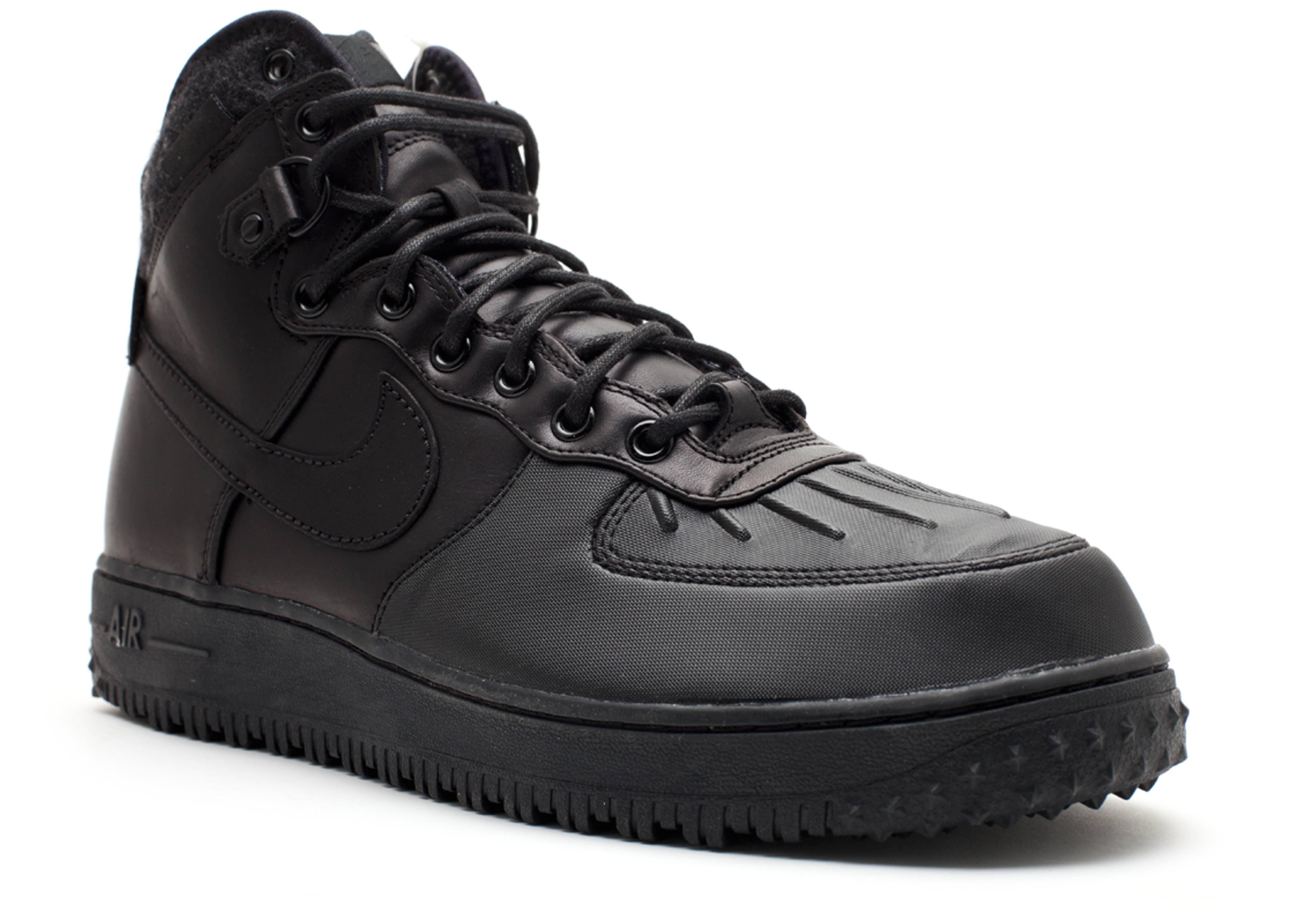 nike air force 1 duckboot czarne