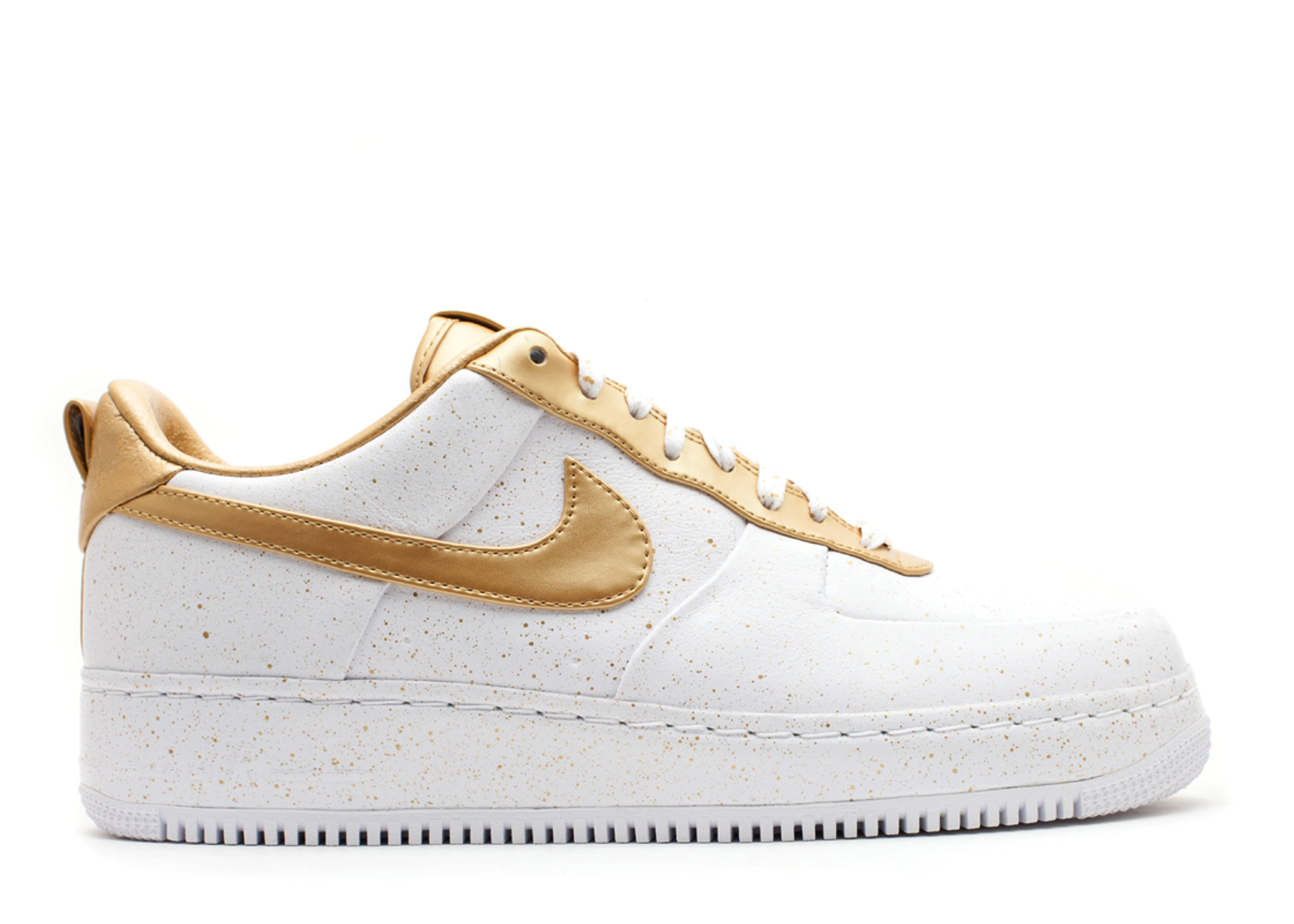 nike air force questlove gold toe