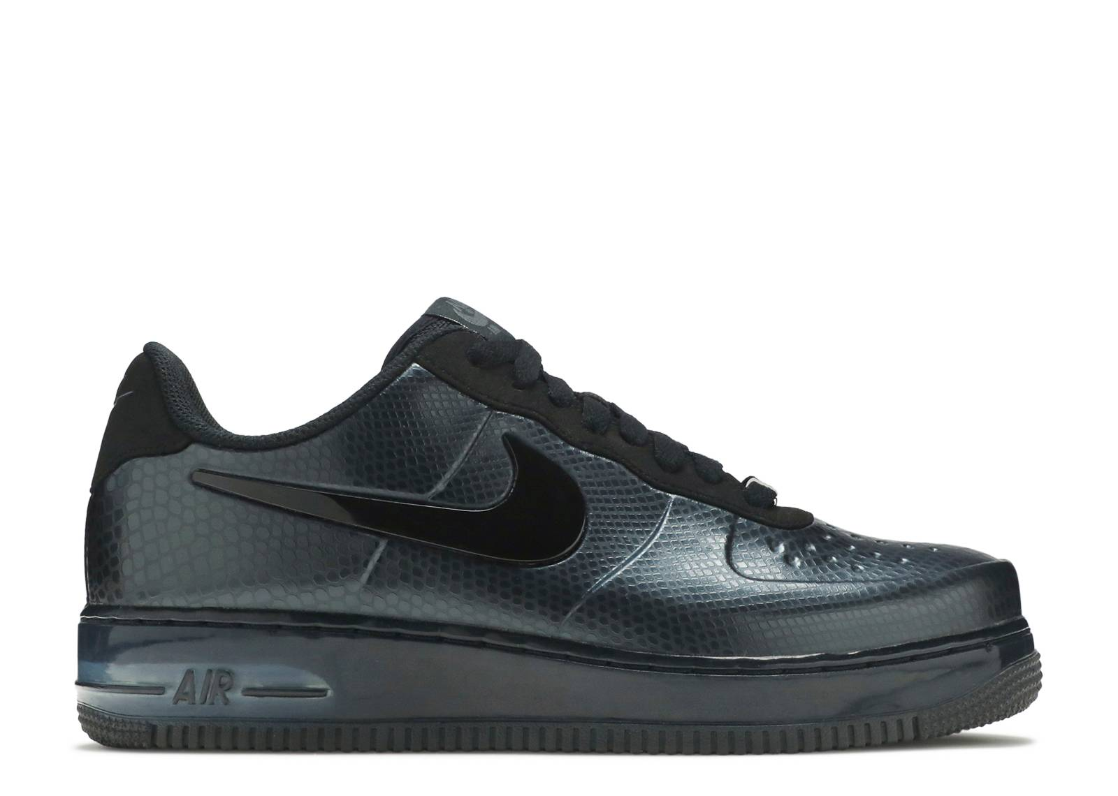 dc734f371a200 nike air force 1 foamposite pro low black snake for sale christmas