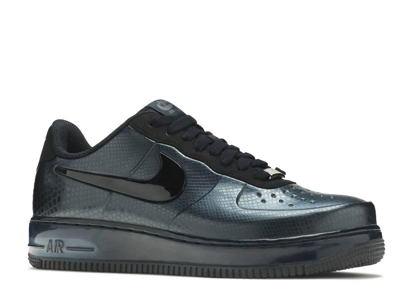 Nike Foamposite 1 Force Air 532461 Snake Pro 002 Low Black xO6TwE