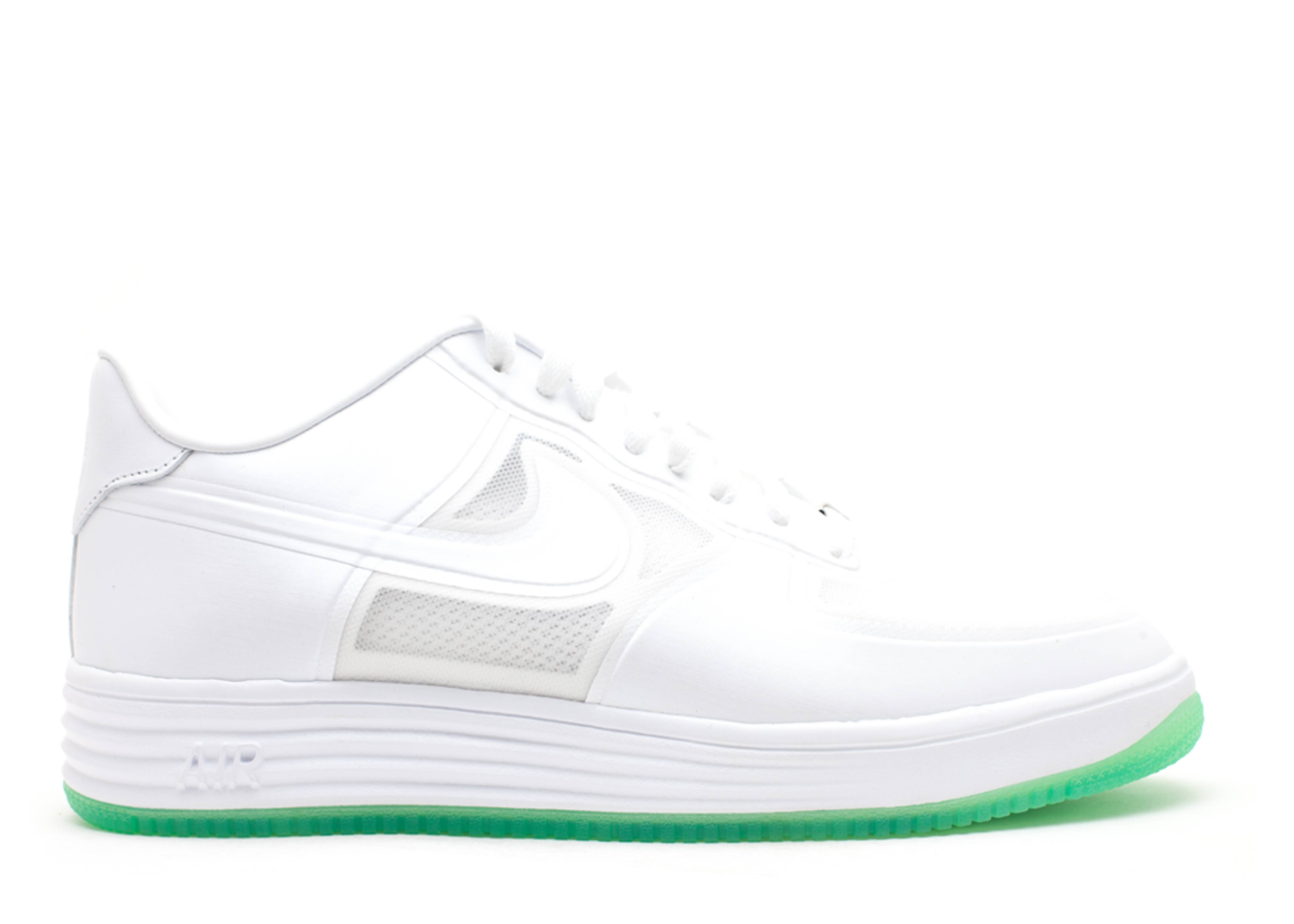 """lunar force 1 fuse qs """"easter (green sole)"""""""