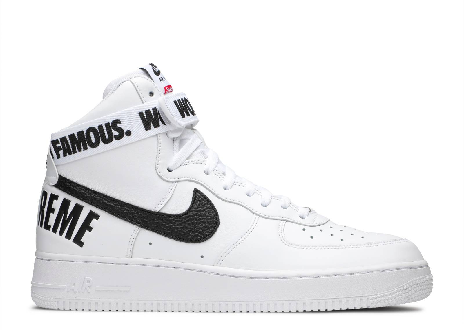 nike air force one supreme white