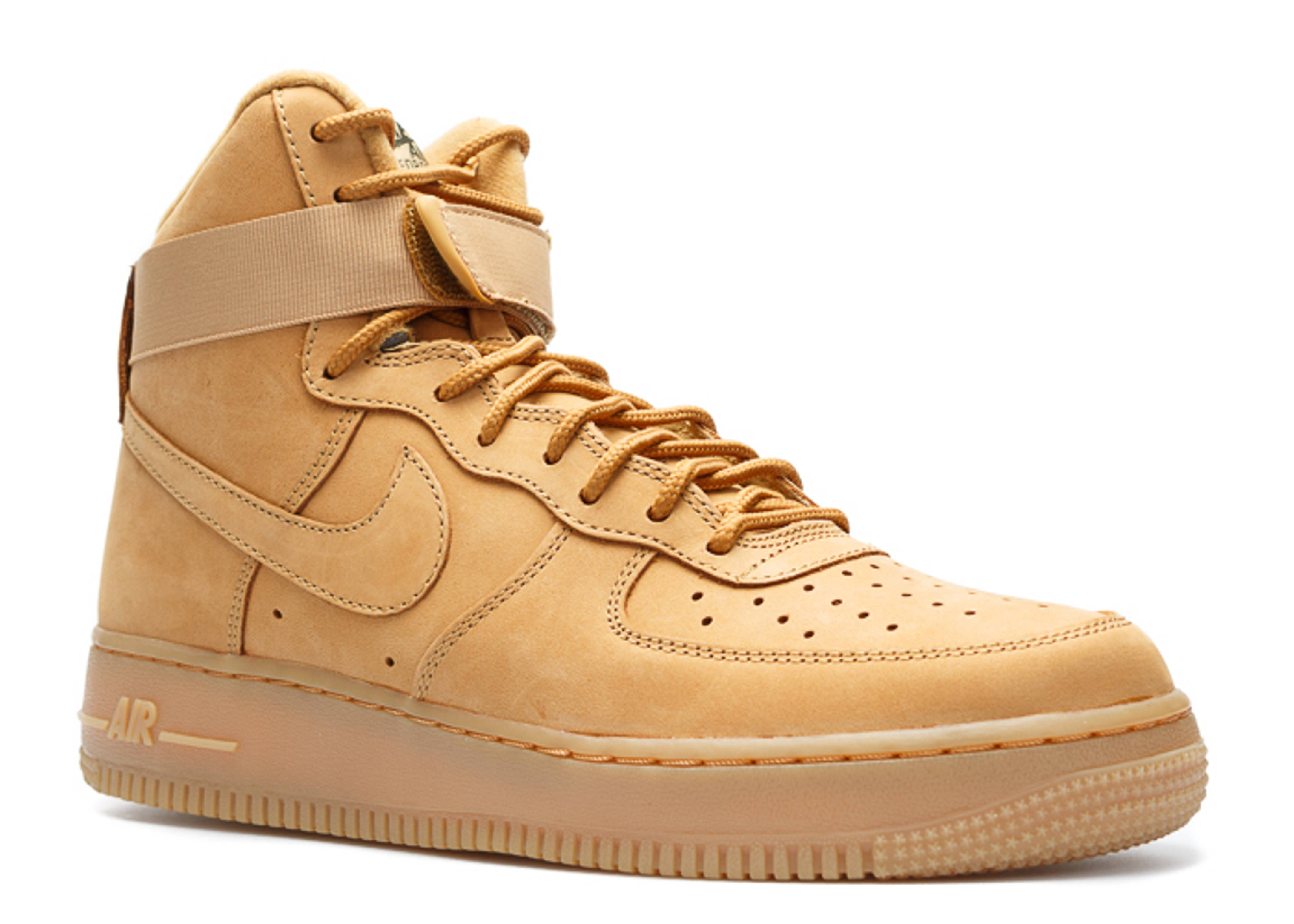 air force 1 high 07 lv8 flax flax flax outdoor green flight club. Black Bedroom Furniture Sets. Home Design Ideas