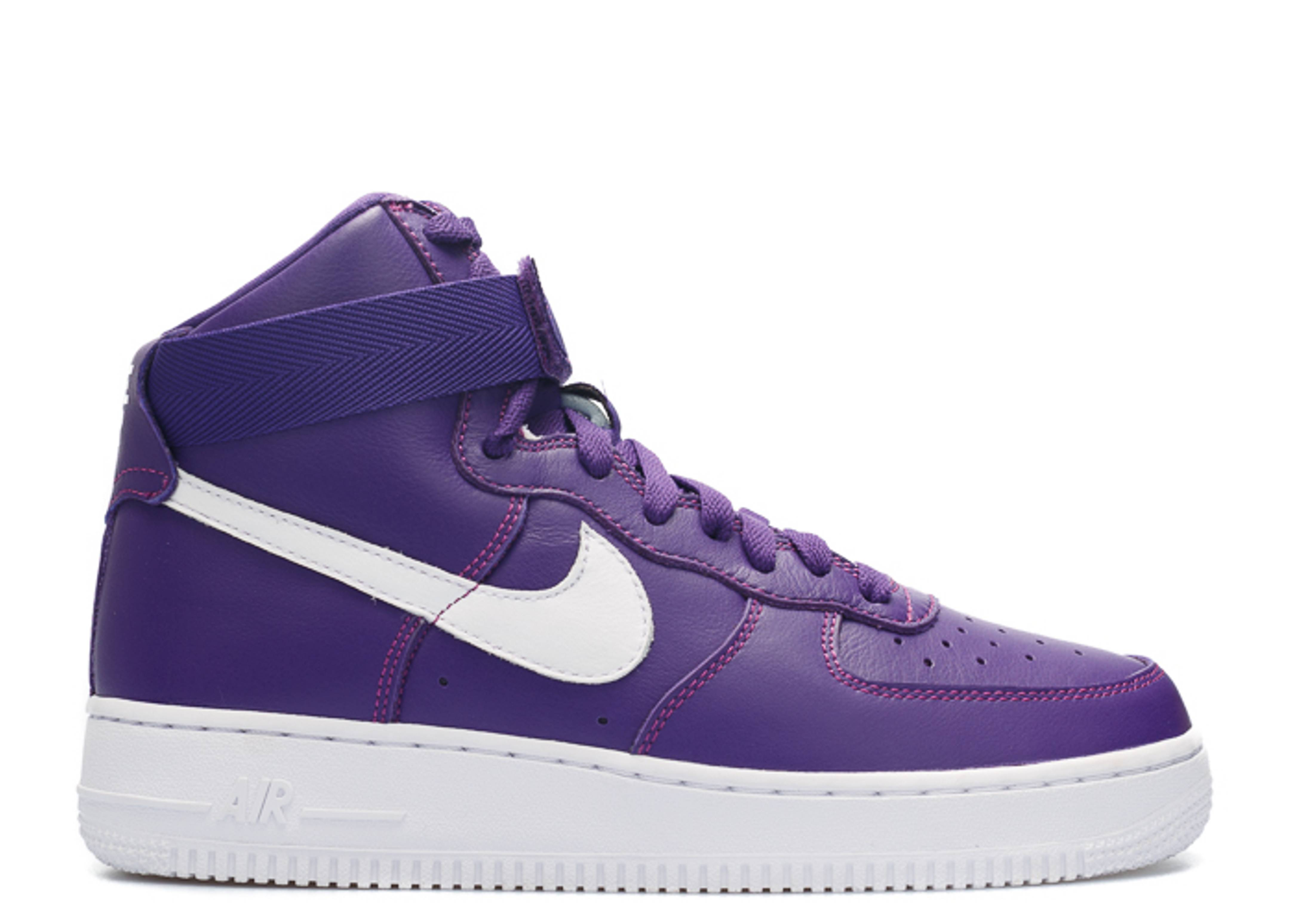 ... shop air force 1 high retro qs nike 823297 500 purple purple white  flight club 6b8df 799d890e9