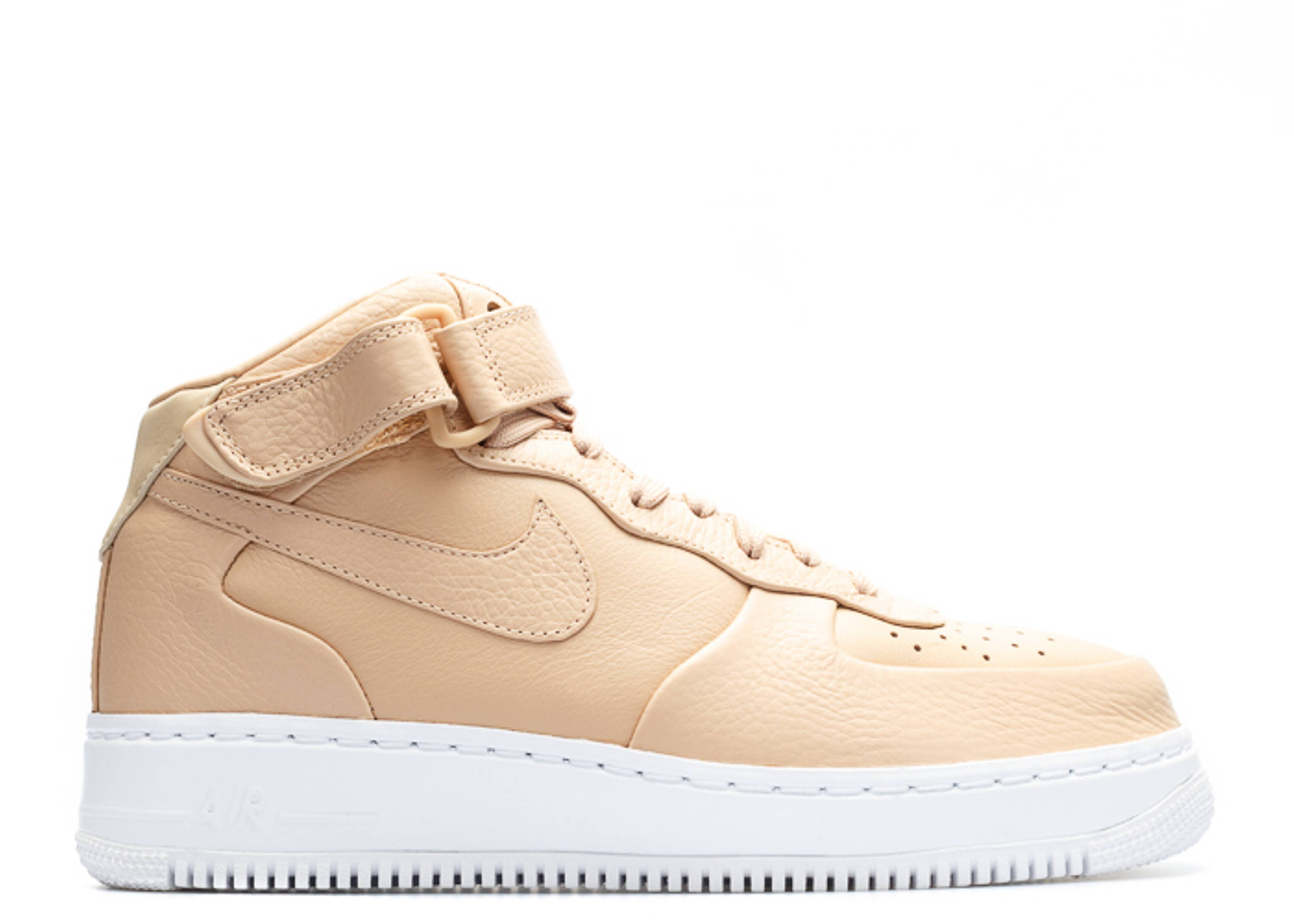 "nikelab air force 1 mid ""vachetta tan"""