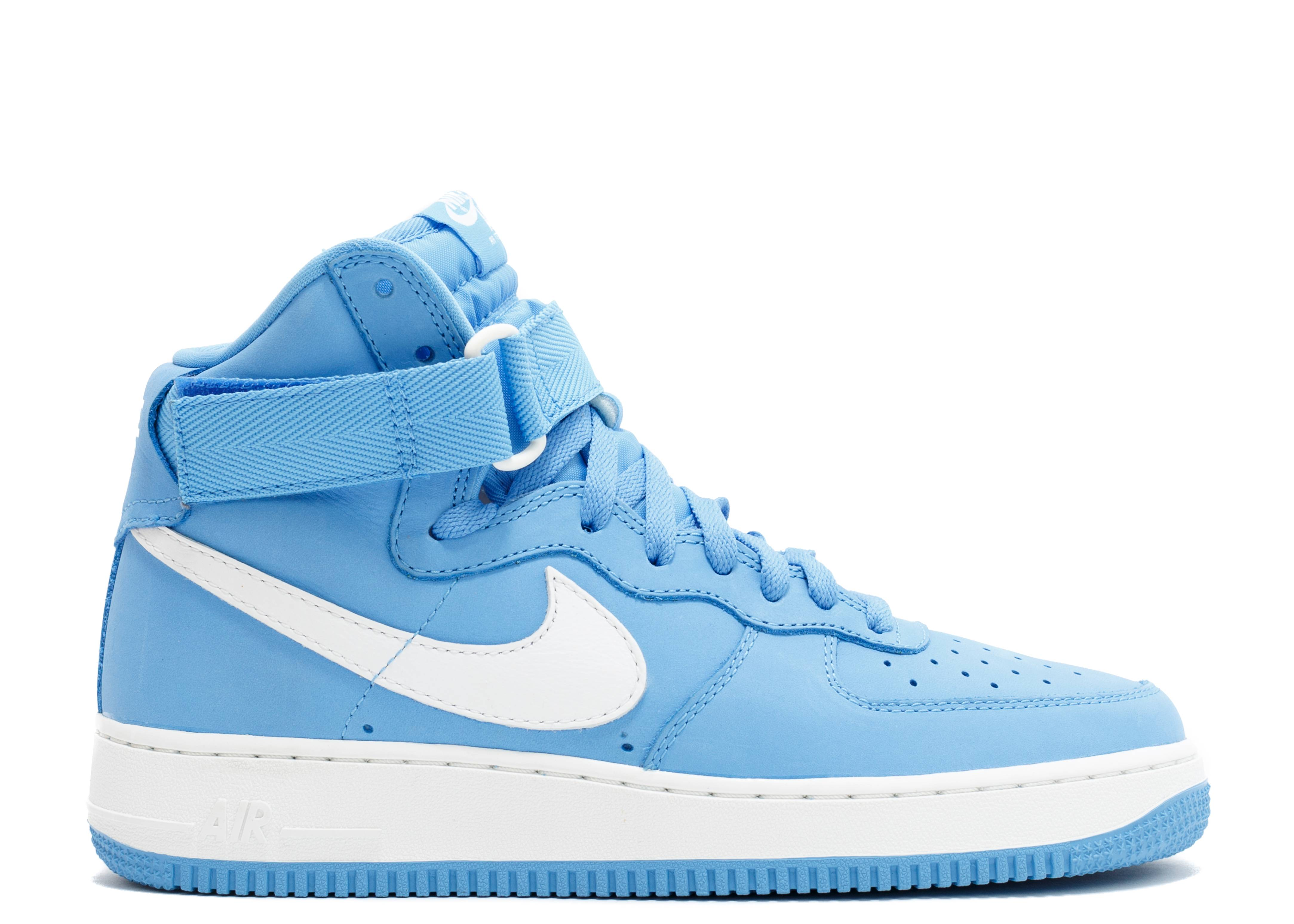 Nike Qs Air Force 1 Hi Retro Qs Nike 743546 400 Universidad Azul 1bdeed