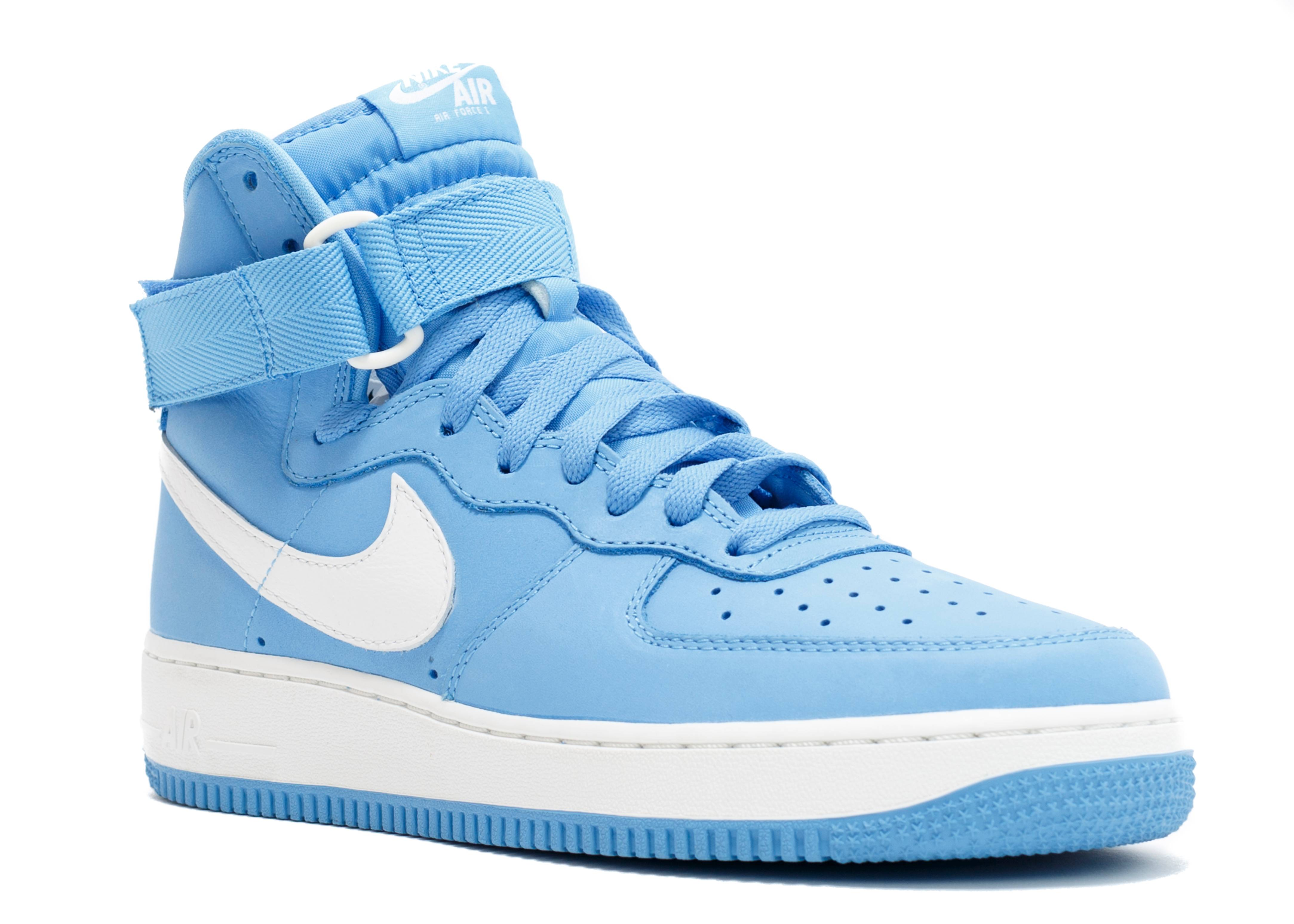 air force 1 hi retro qs nike 743546 400 university blue flight club. Black Bedroom Furniture Sets. Home Design Ideas
