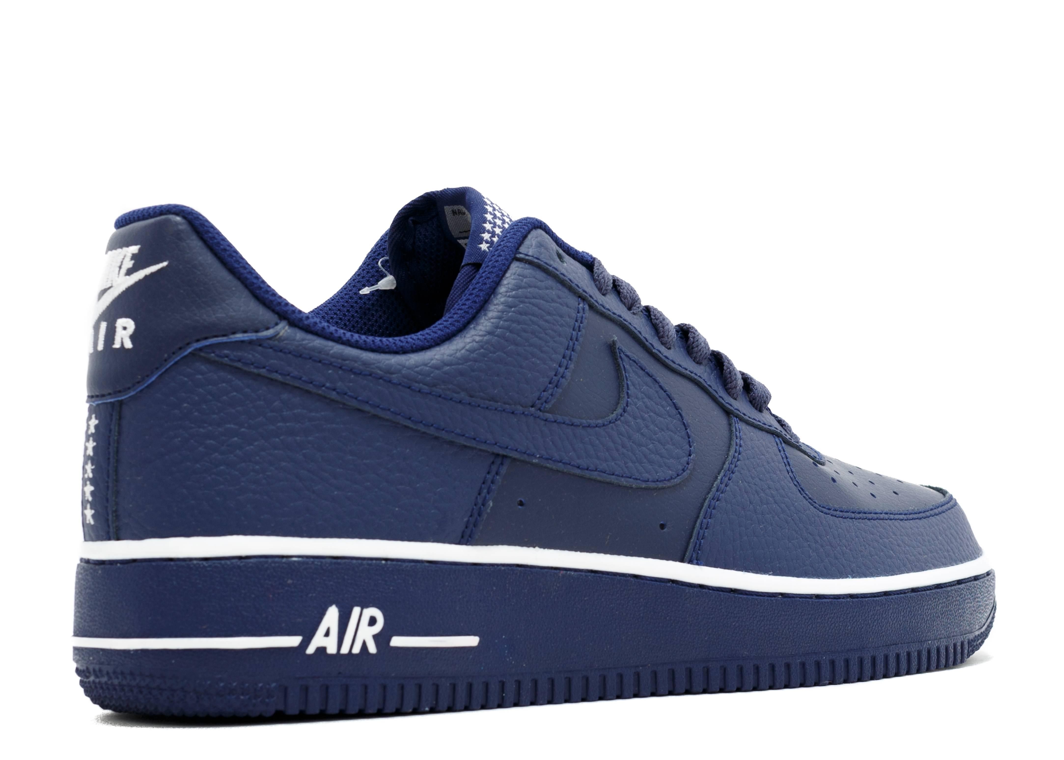 hot sale online 05e04 f833b ... Air Force 1 Low - Nike - 488298 437 - loyal blueloyal blue Flight Club .