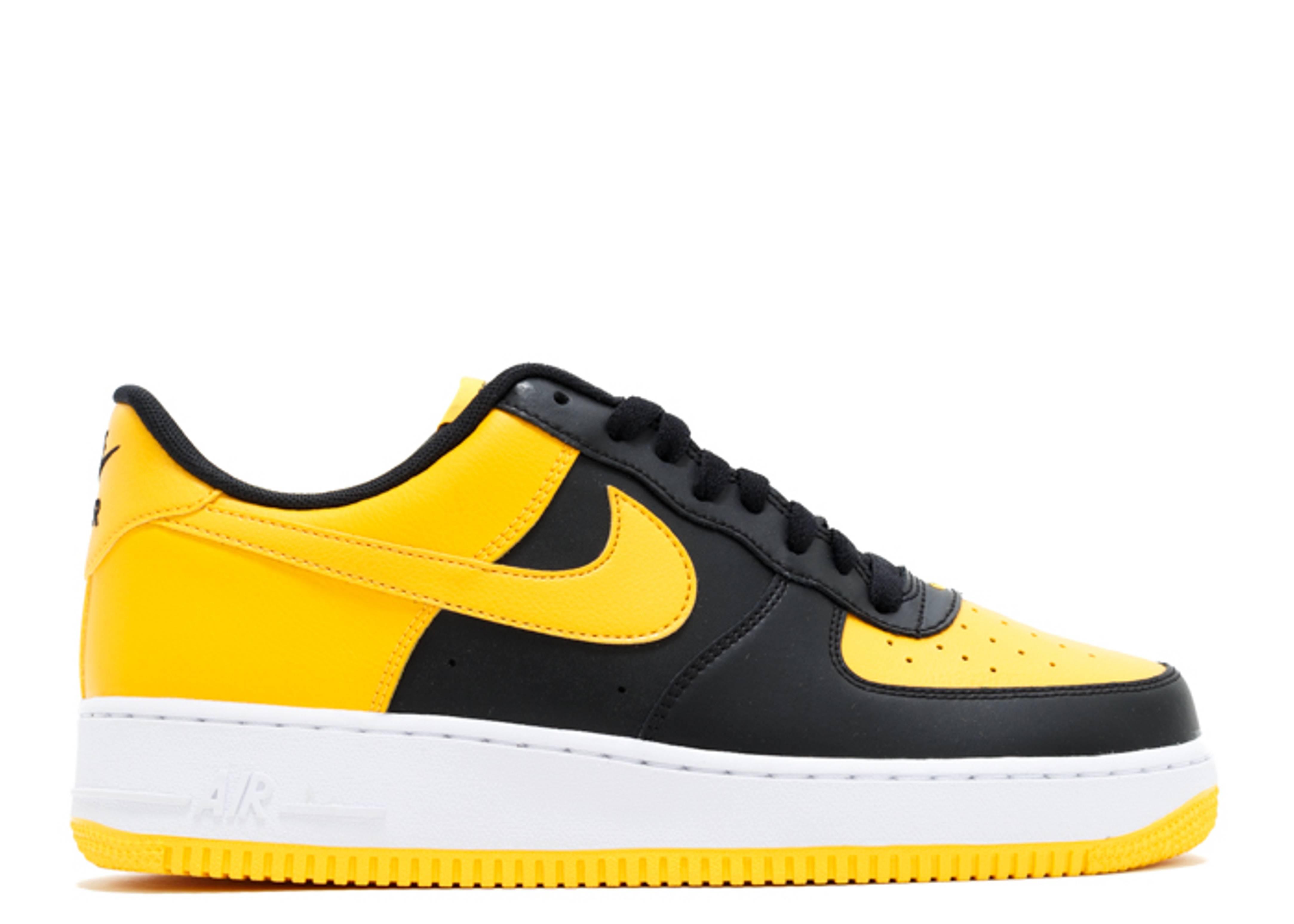 Air Force 1 - Nike - 820266 011 - black yellow white  6ff9fb0f7d71